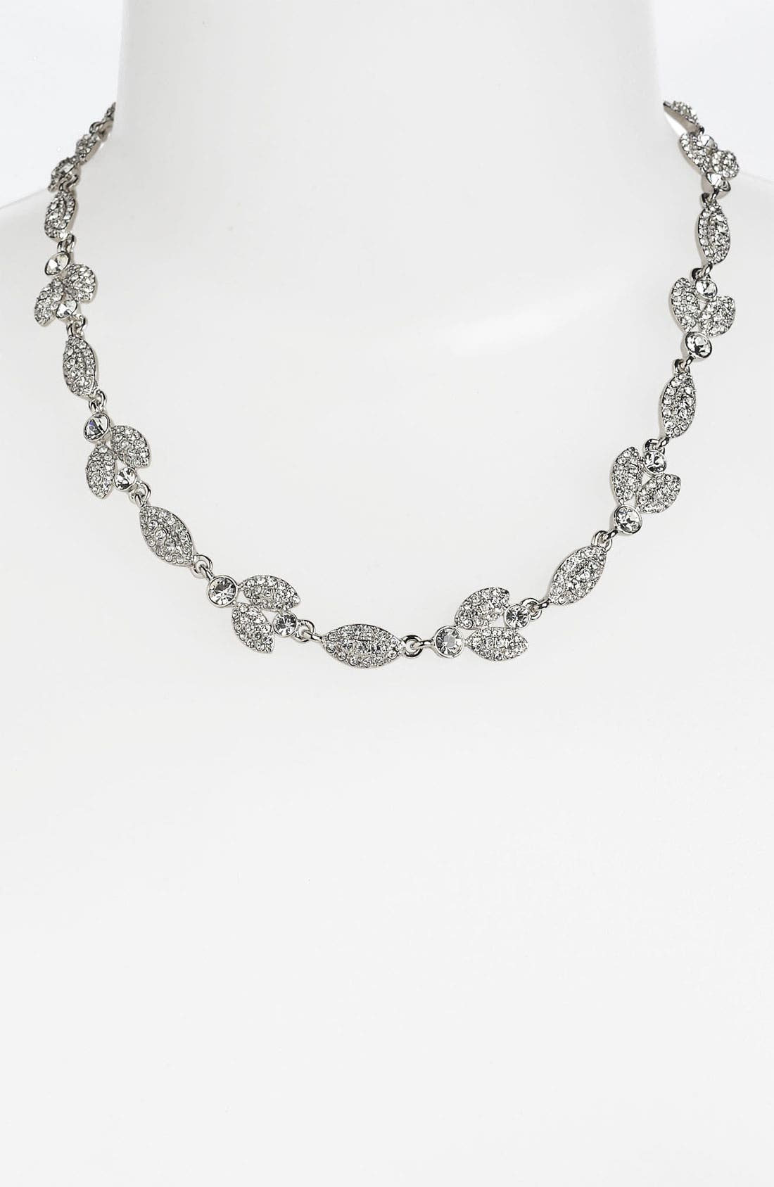 Crystal Collar Necklace, Main, color, 040