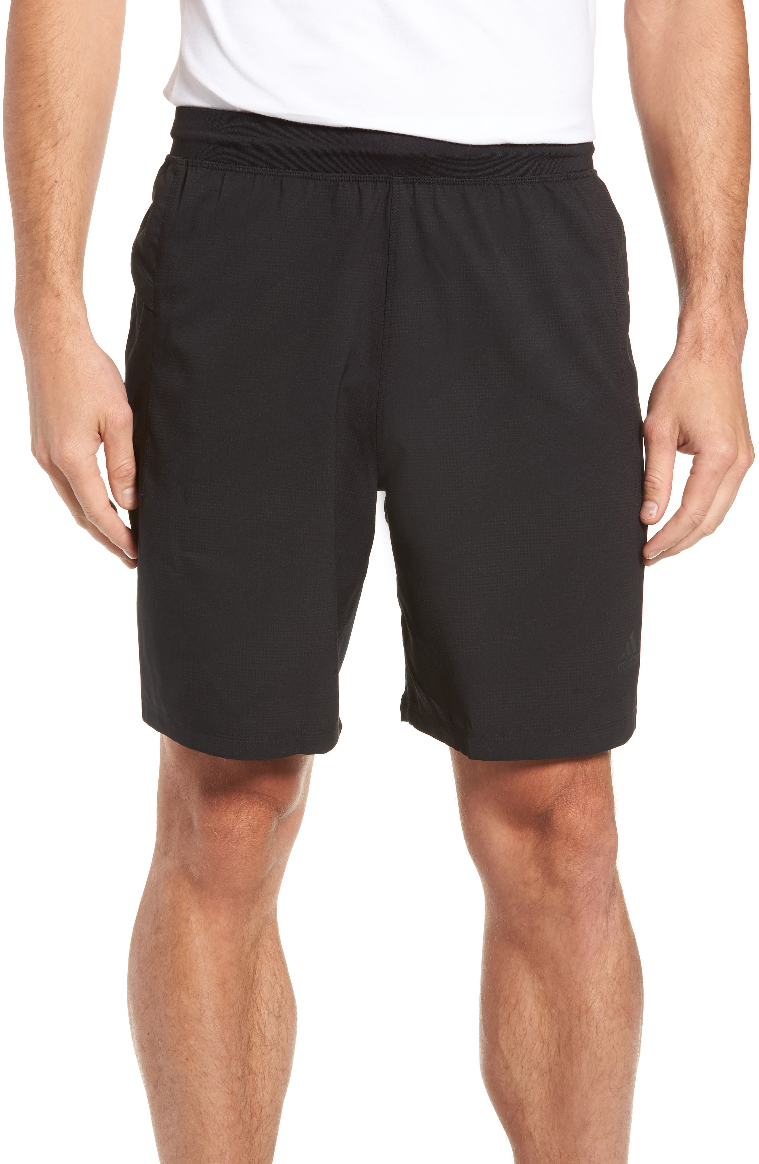 Camo Hype Reflective Regular Fit Shorts,                             Main thumbnail 1, color,                             001