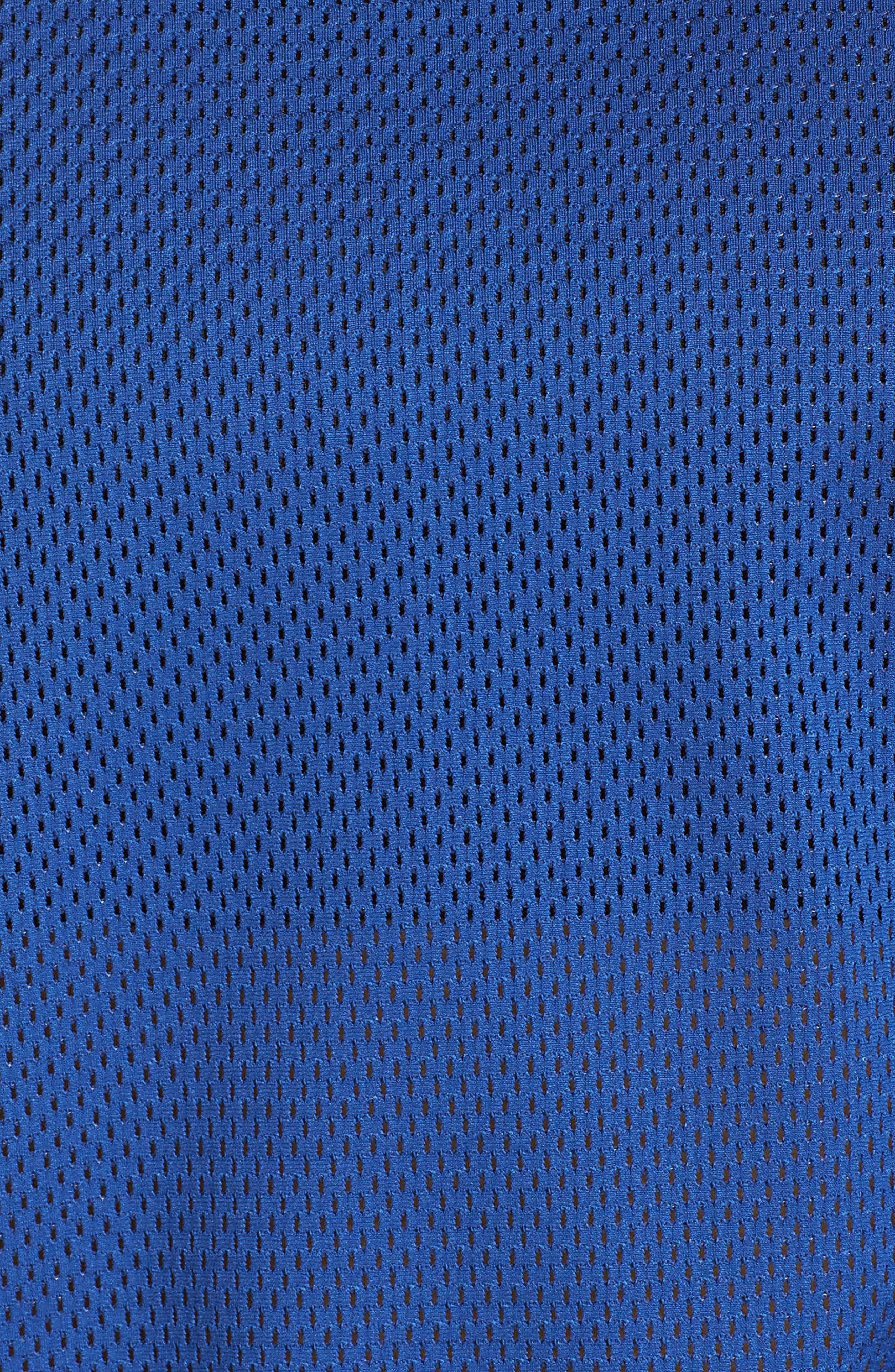 Tie Back Mesh Tank,                             Alternate thumbnail 6, color,                             ROYAL BLUE