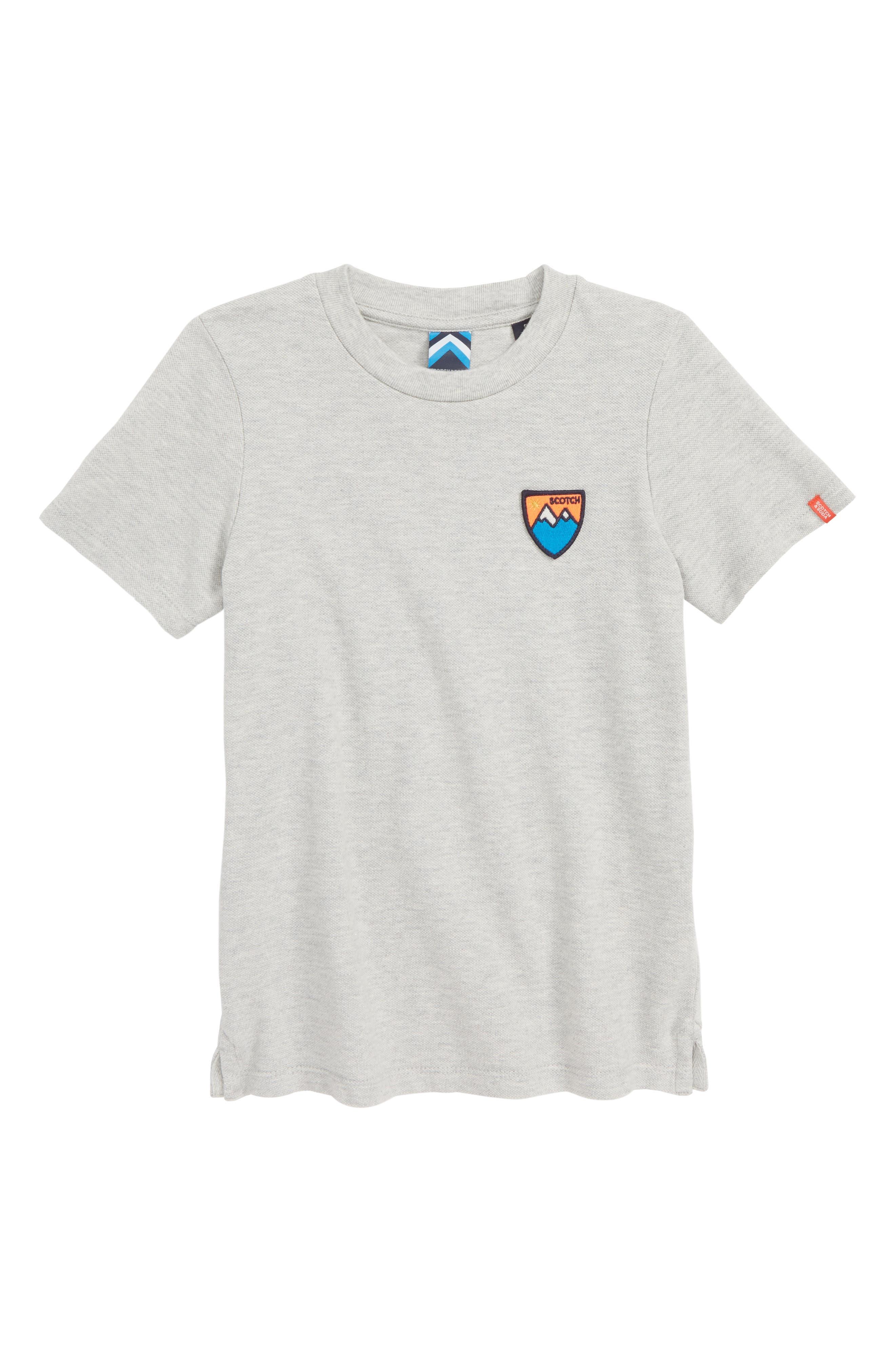 Alpine T-Shirt, Main, color, GREY