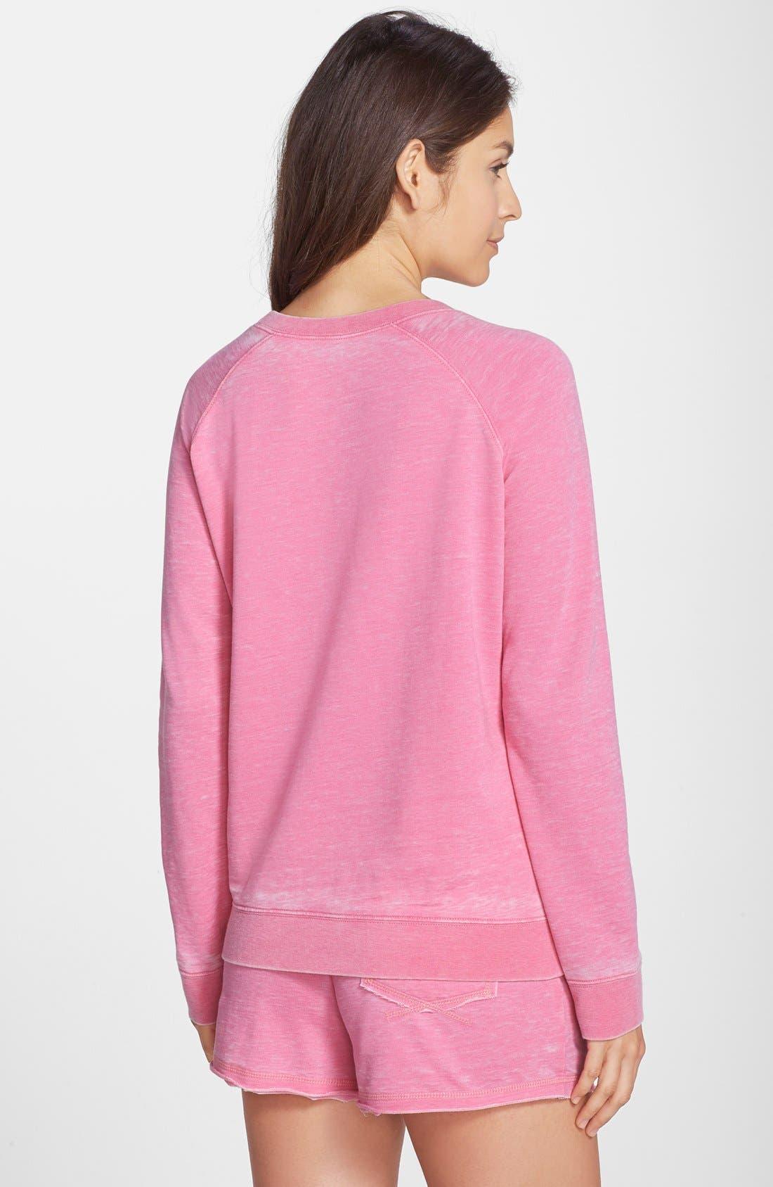 Burnout Lounge Sweatshirt,                             Alternate thumbnail 125, color,