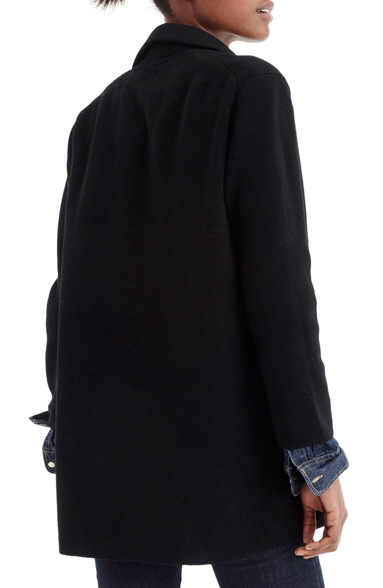Open Front Sweater Blazer,                             Alternate thumbnail 6, color,