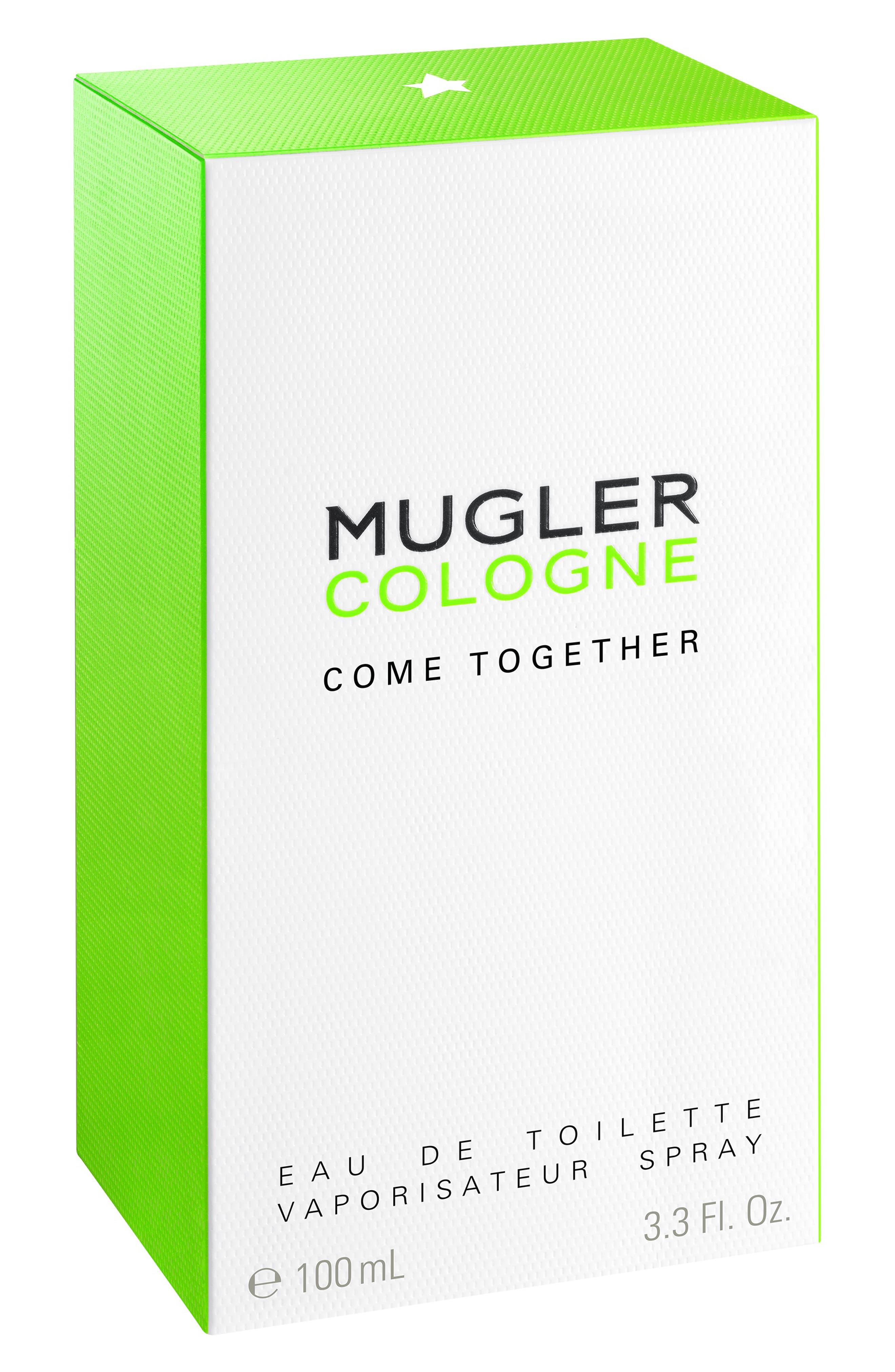 MUGLER,                             Come Together Cologne,                             Alternate thumbnail 2, color,                             NO COLOR