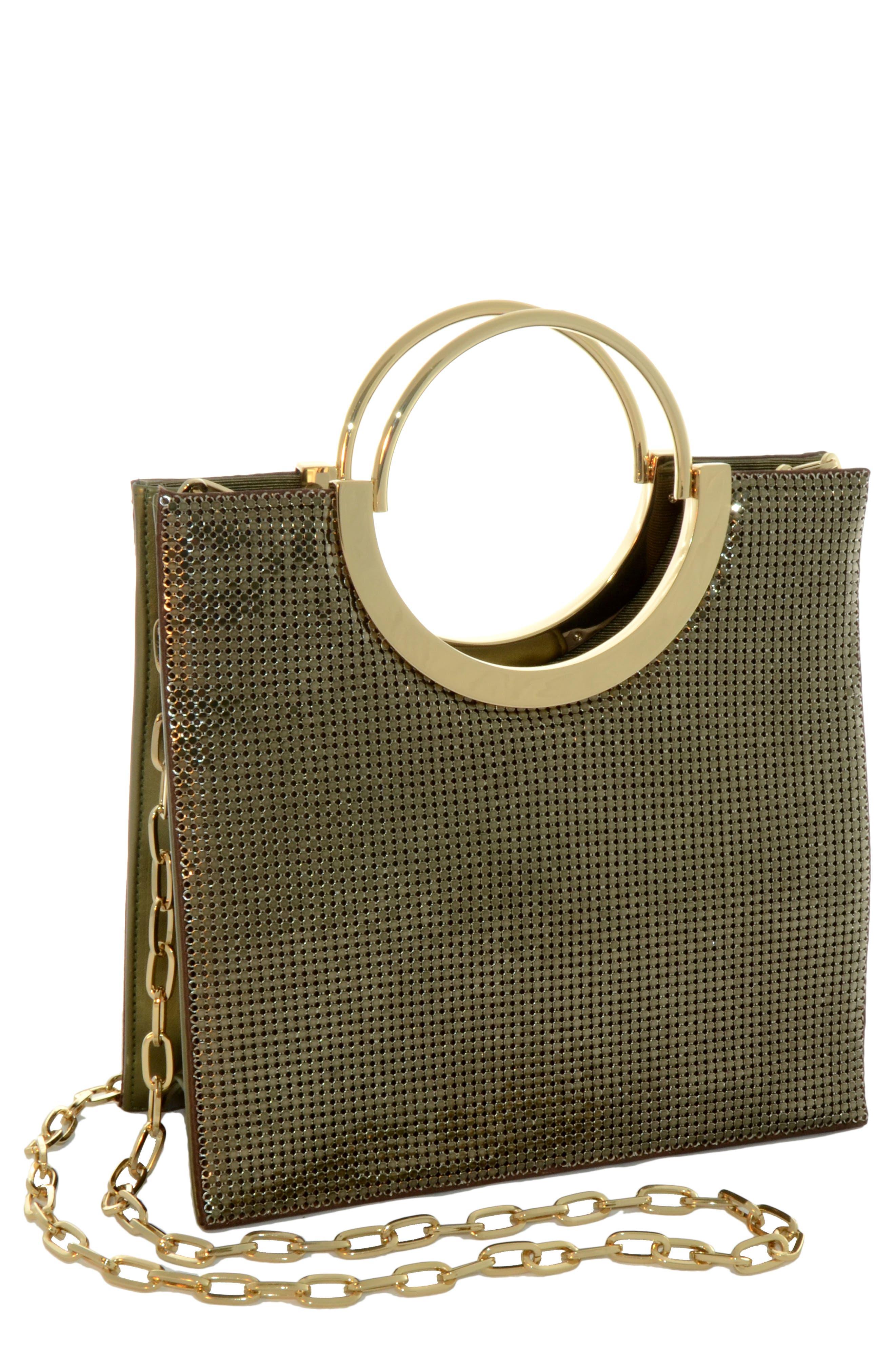 Nolita Tote Bag - Metallic in Antique Gold