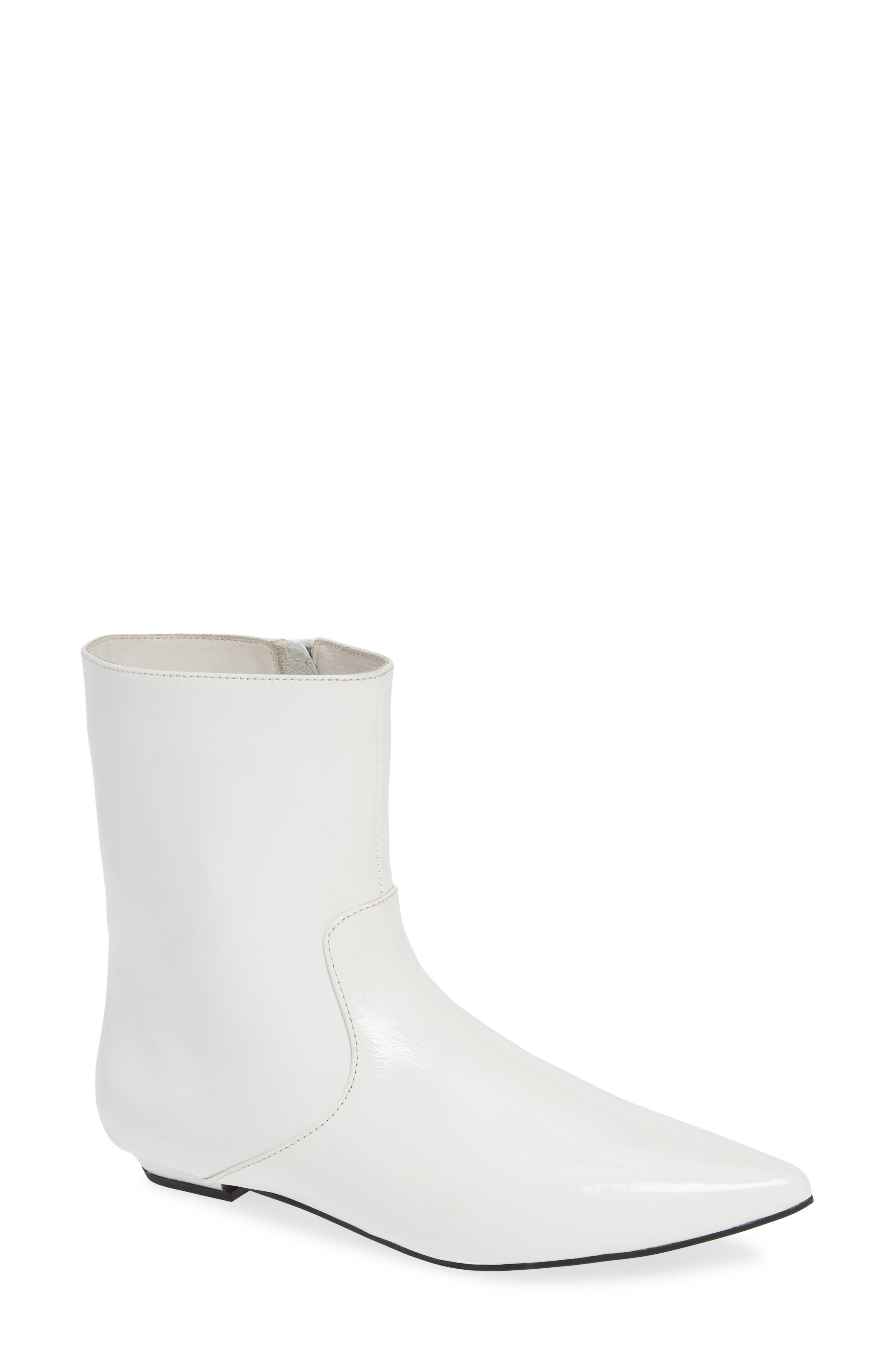 Jeffrey Campbell Galaxie Bootie, White