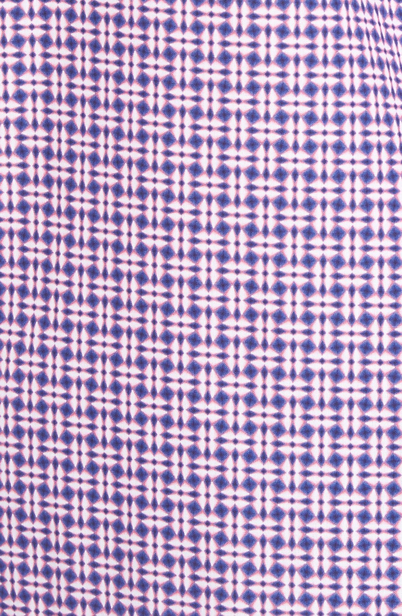 Classic Fit Woven Sport Shirt,                             Alternate thumbnail 5, color,                             682