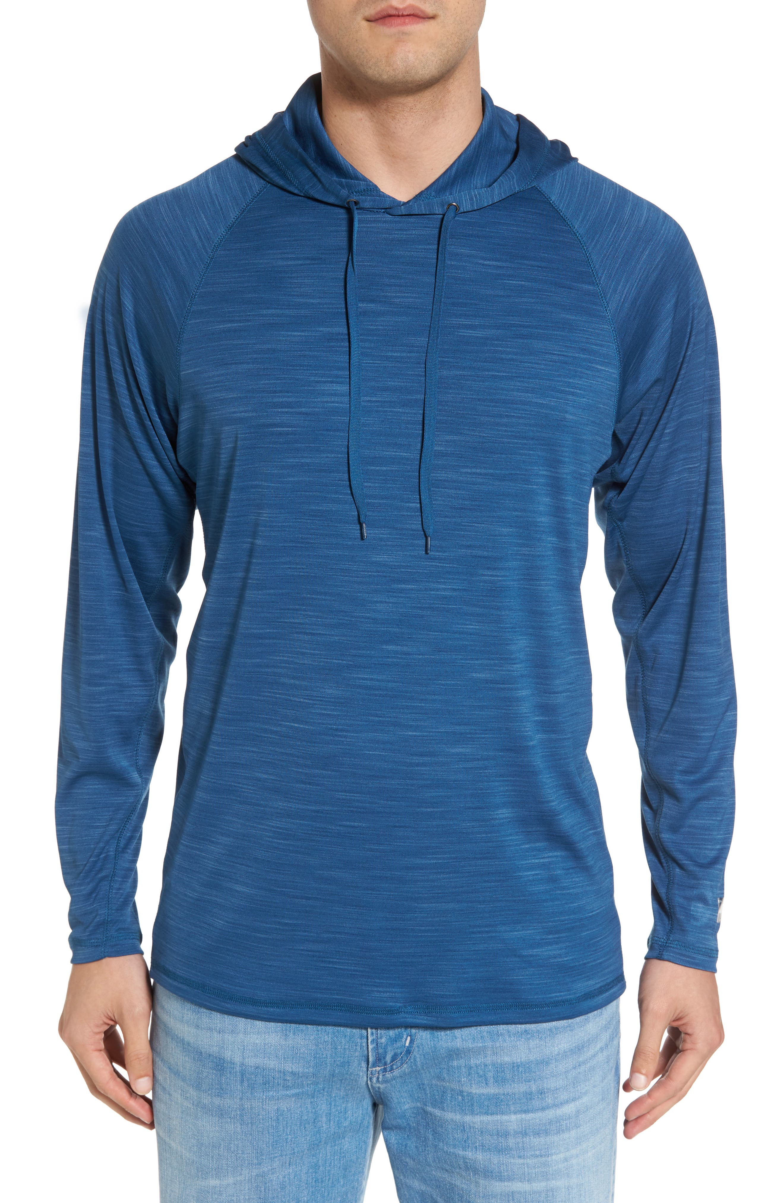 Undercover Hooded Long Sleeve Performance T-Shirt,                             Main thumbnail 2, color,