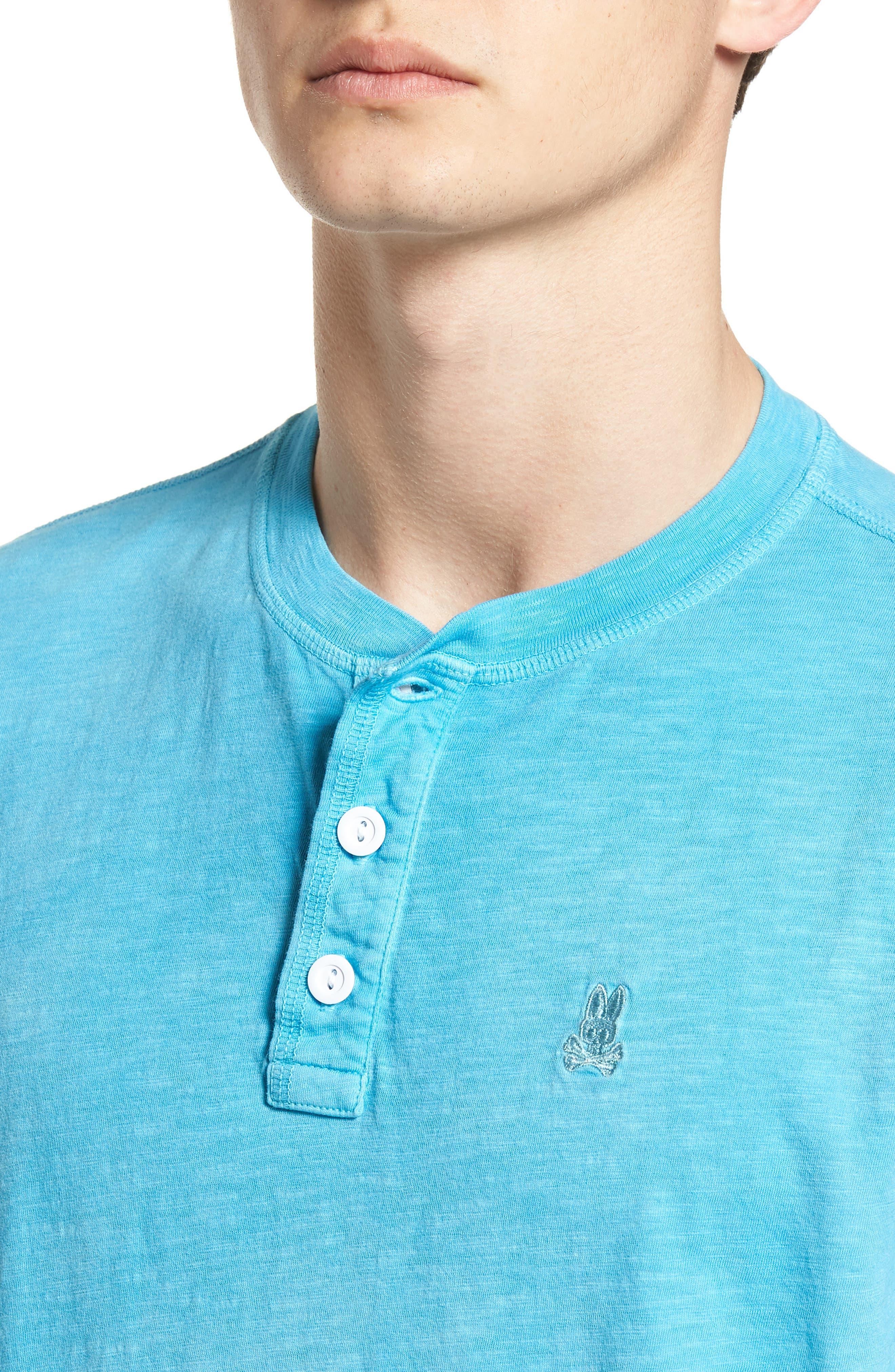 Sunwash Henley T-Shirt,                             Alternate thumbnail 19, color,
