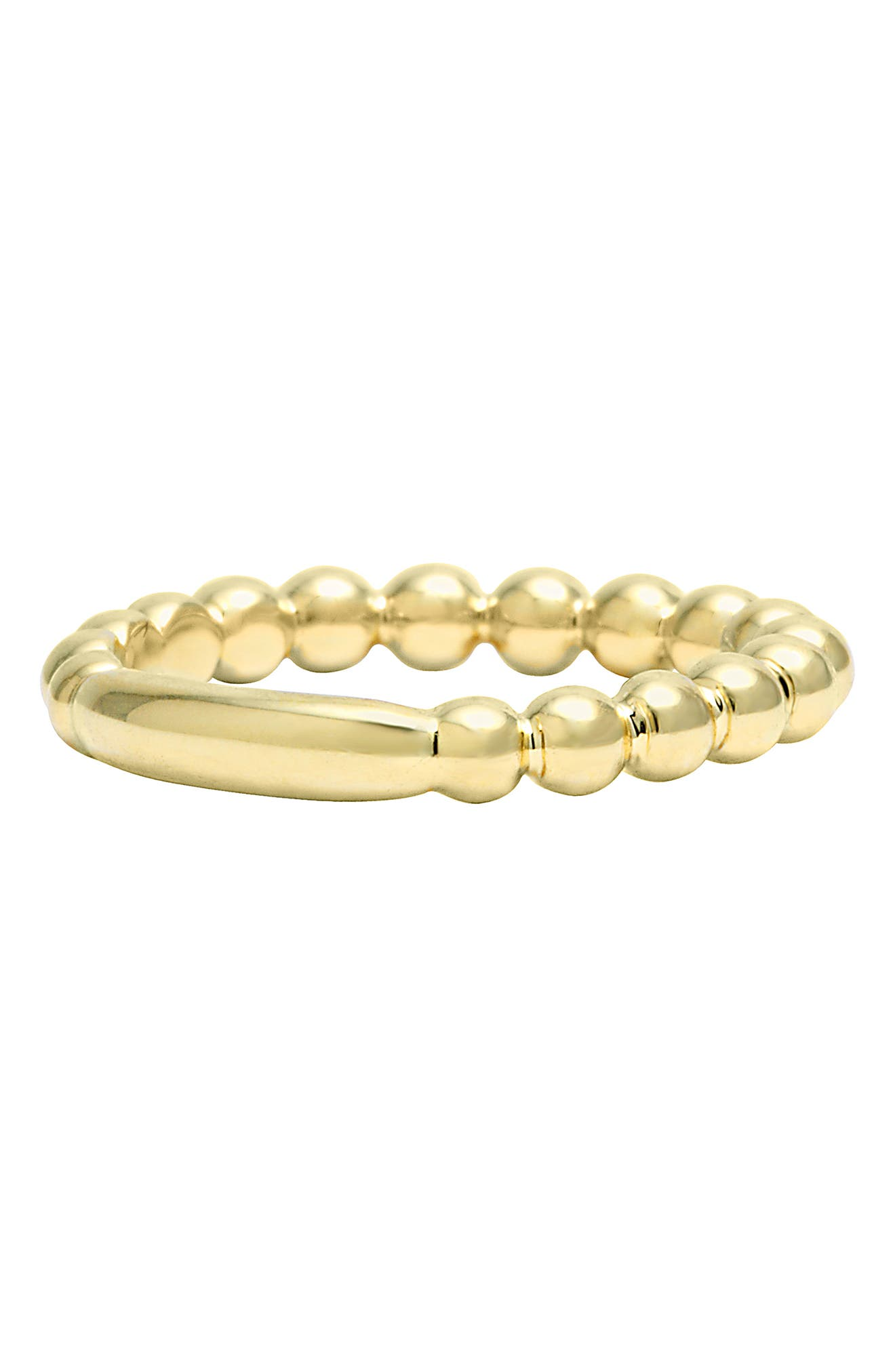 Caviar Stack Ring,                             Alternate thumbnail 6, color,                             GOLD