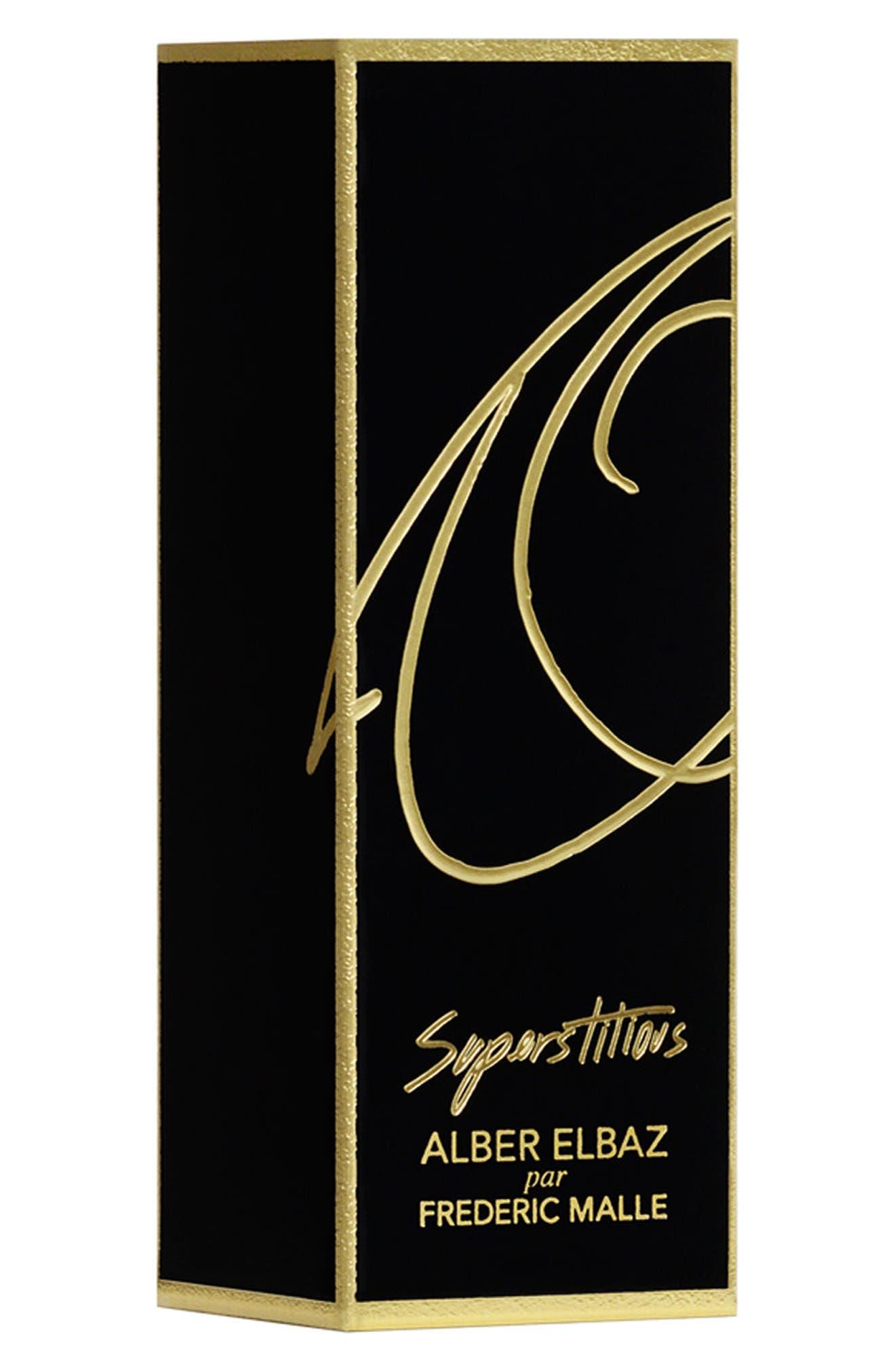 Editions de Parfums Frédéric Malle Alber Elbaz Superstitious Eau de Parfum Travel Spray Case,                             Alternate thumbnail 2, color,                             000