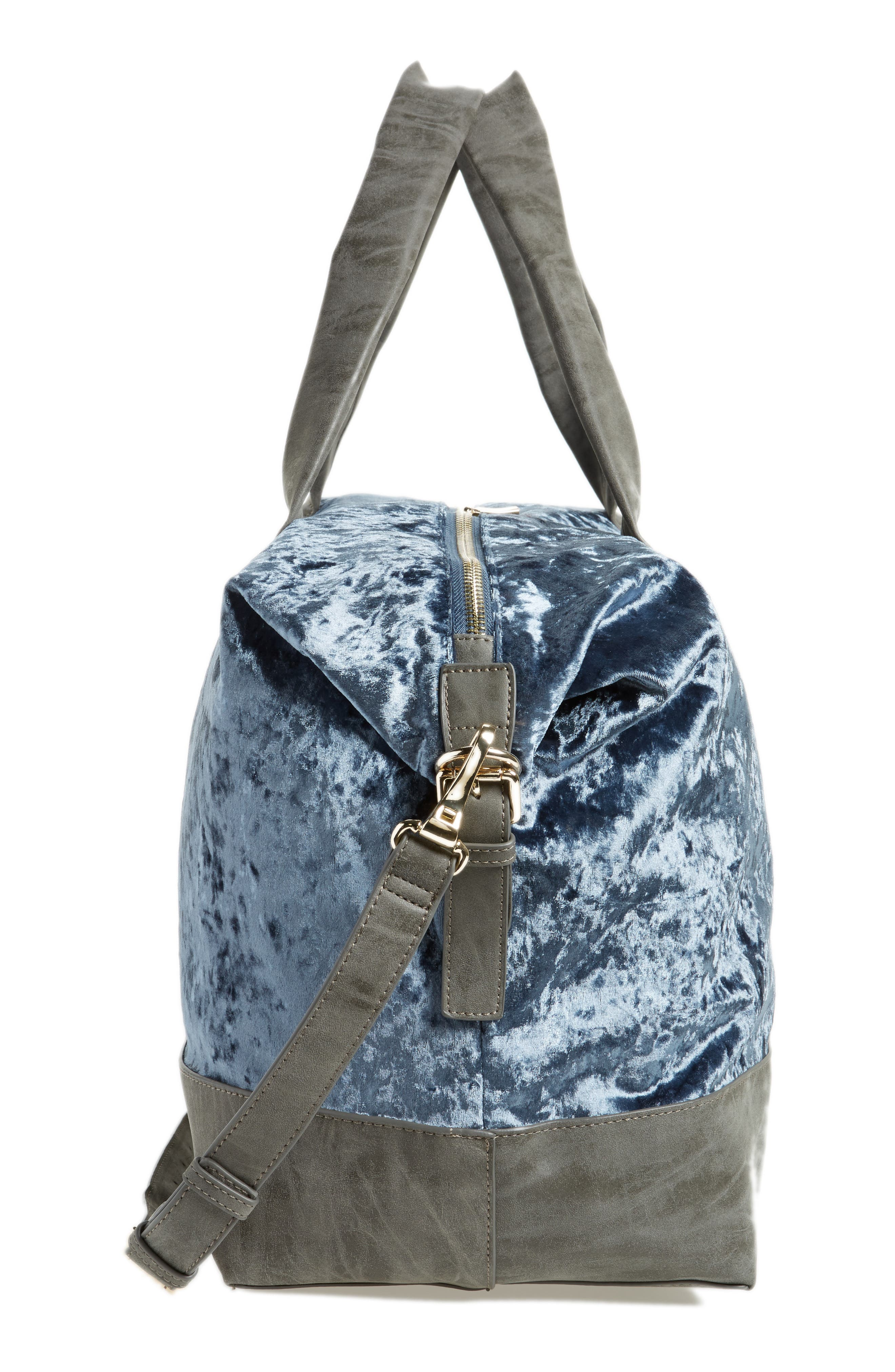 Venti Velvet Duffel Bag,                             Alternate thumbnail 10, color,