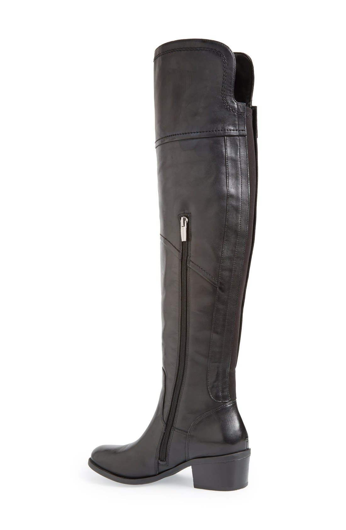 VINCE CAMUTO,                             'Bernadine' Over the Knee Boot,                             Alternate thumbnail 3, color,                             001