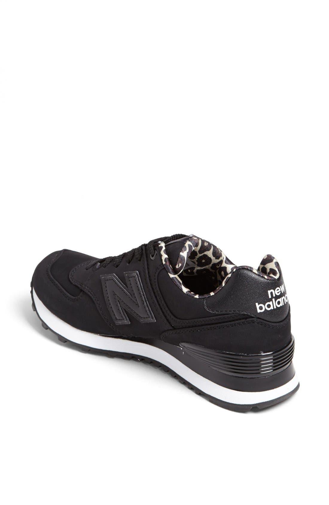 NEW BALANCE,                             '574' Sneaker,                             Alternate thumbnail 2, color,                             001