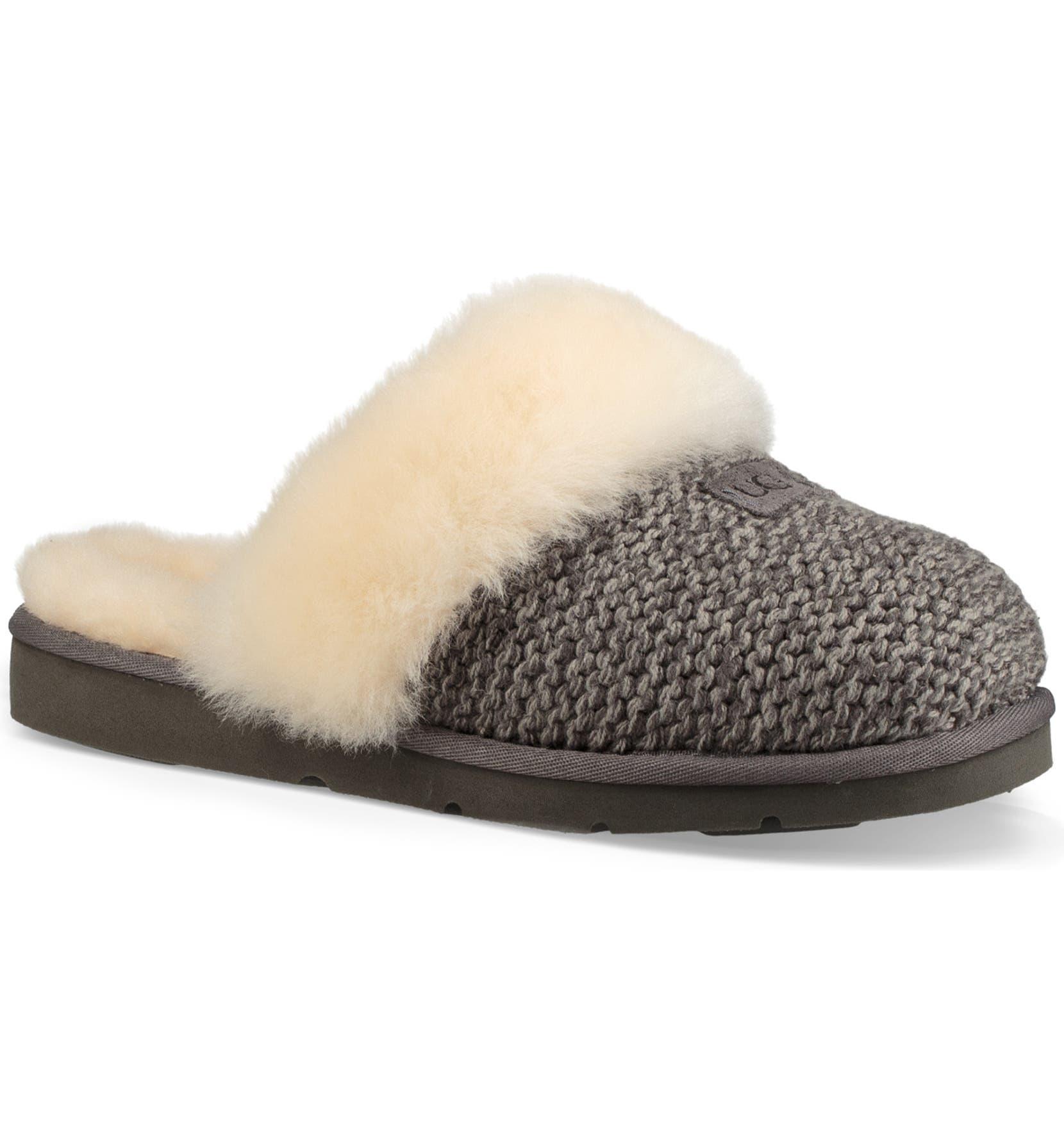 0d2e613ff0 UGG® Cozy Knit Genuine Shearling Slipper (Women)