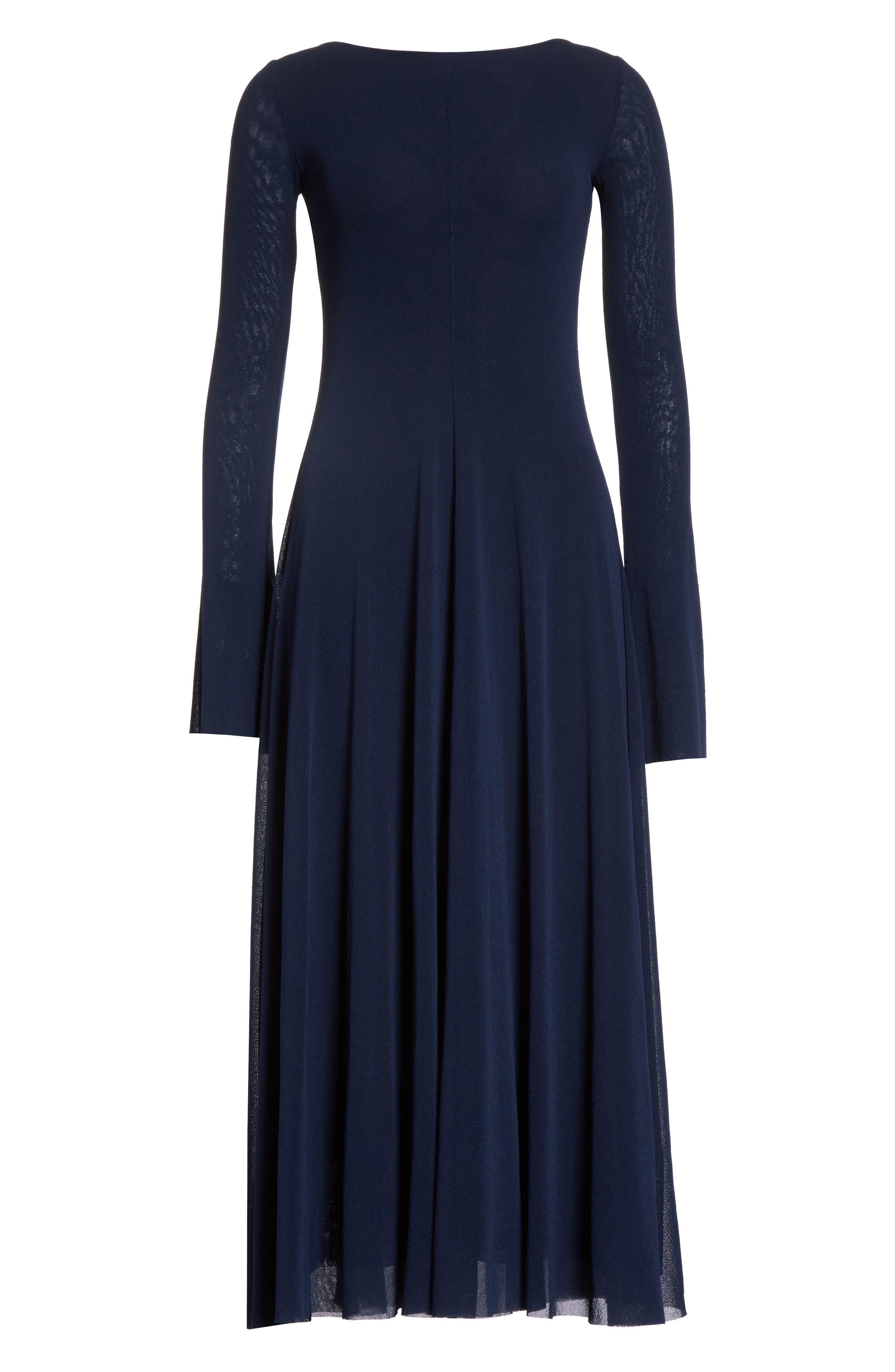 Reversible Tulle Dress,                             Alternate thumbnail 6, color,                             001
