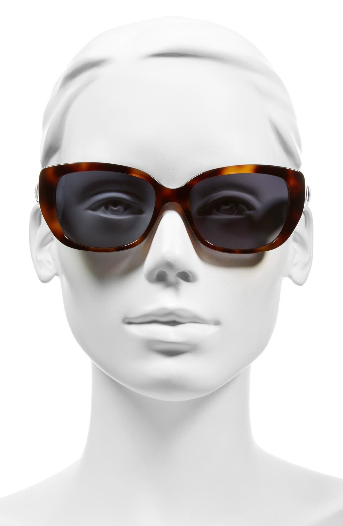Lady 55mm Cat Eye Sunglasses,                             Alternate thumbnail 5, color,