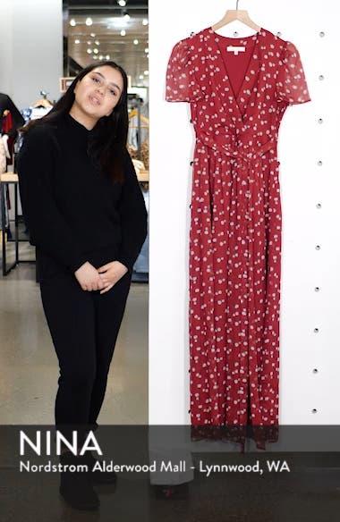 Rhoda Pleated Maxi Dress, sales video thumbnail