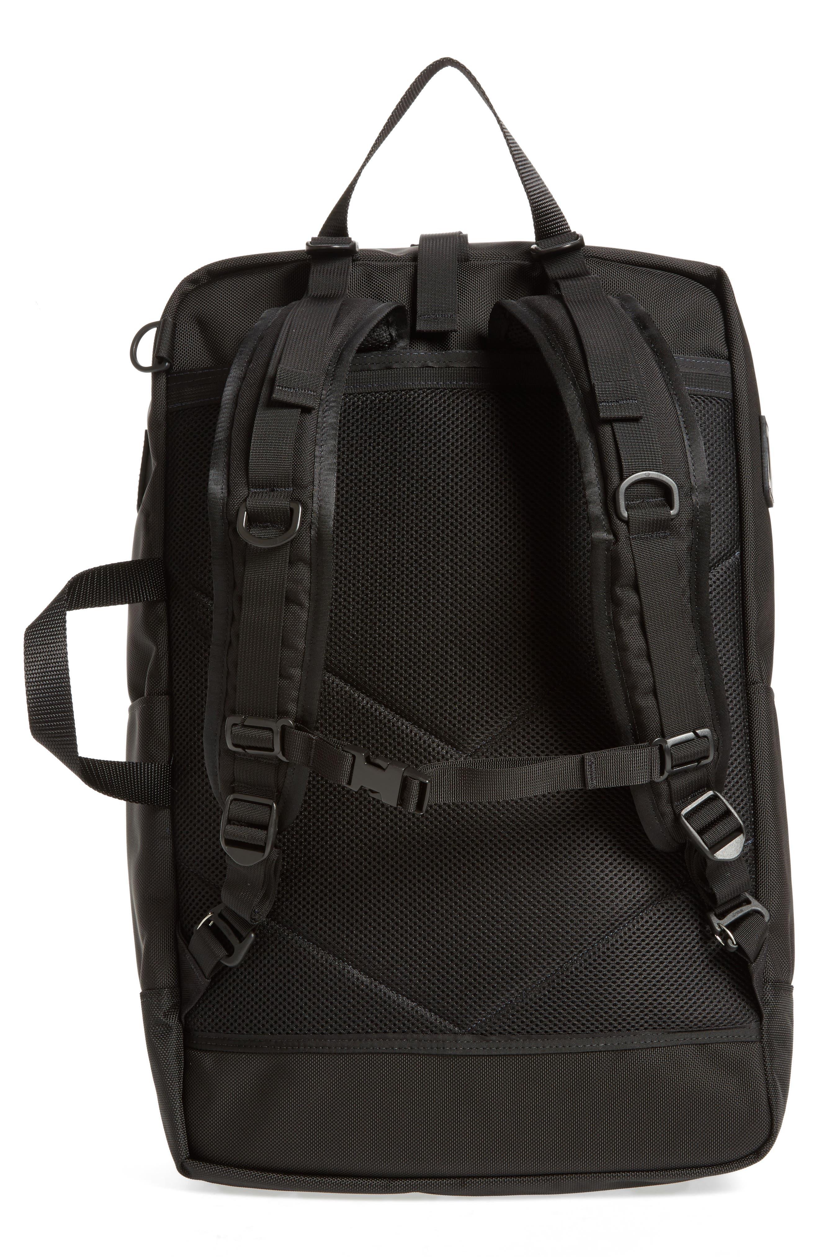 Travel Backpack,                             Alternate thumbnail 3, color,                             BALLISTIC BLACK