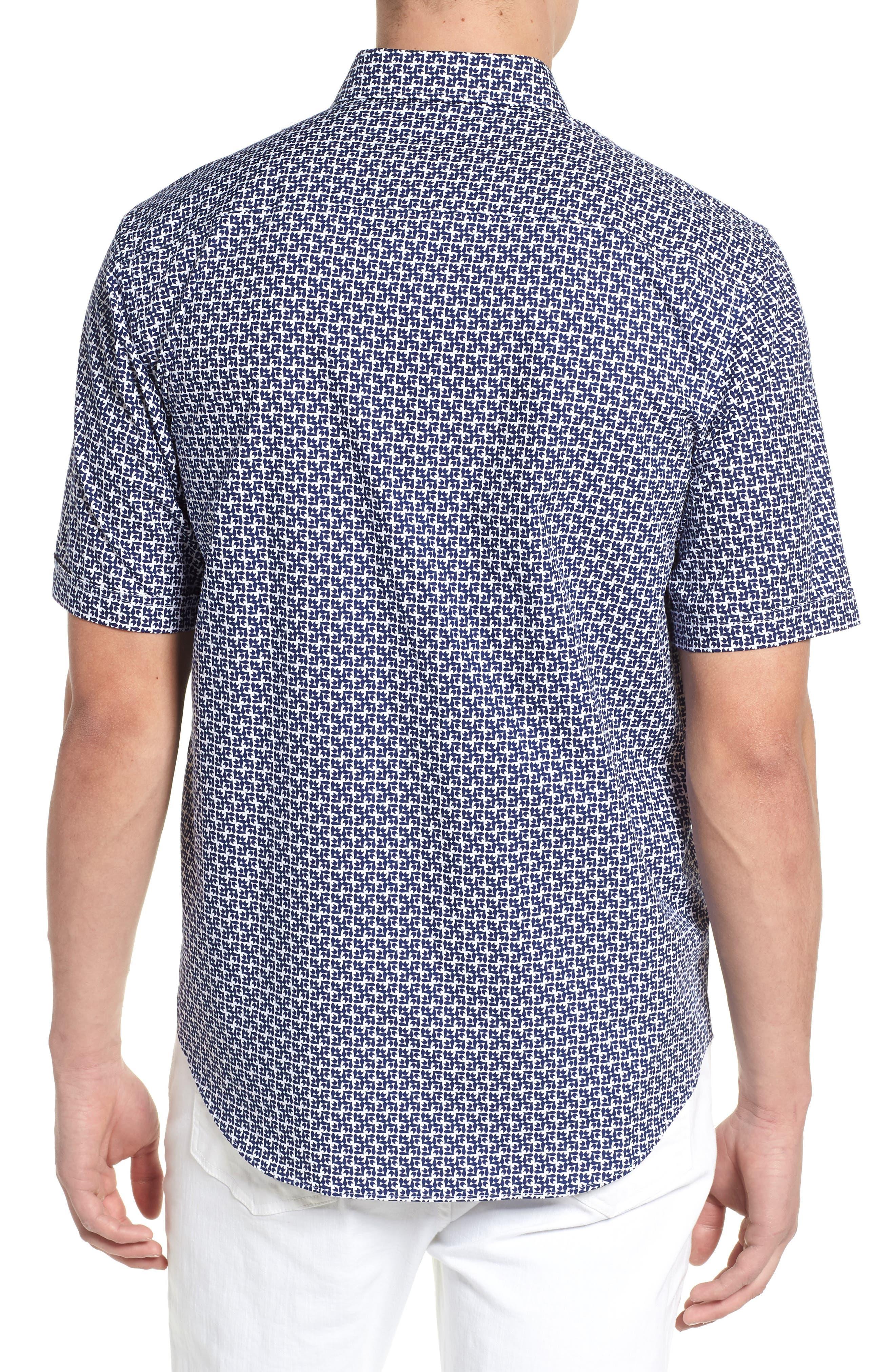 Classic Fit Woven Sport Shirt,                             Alternate thumbnail 2, color,                             411