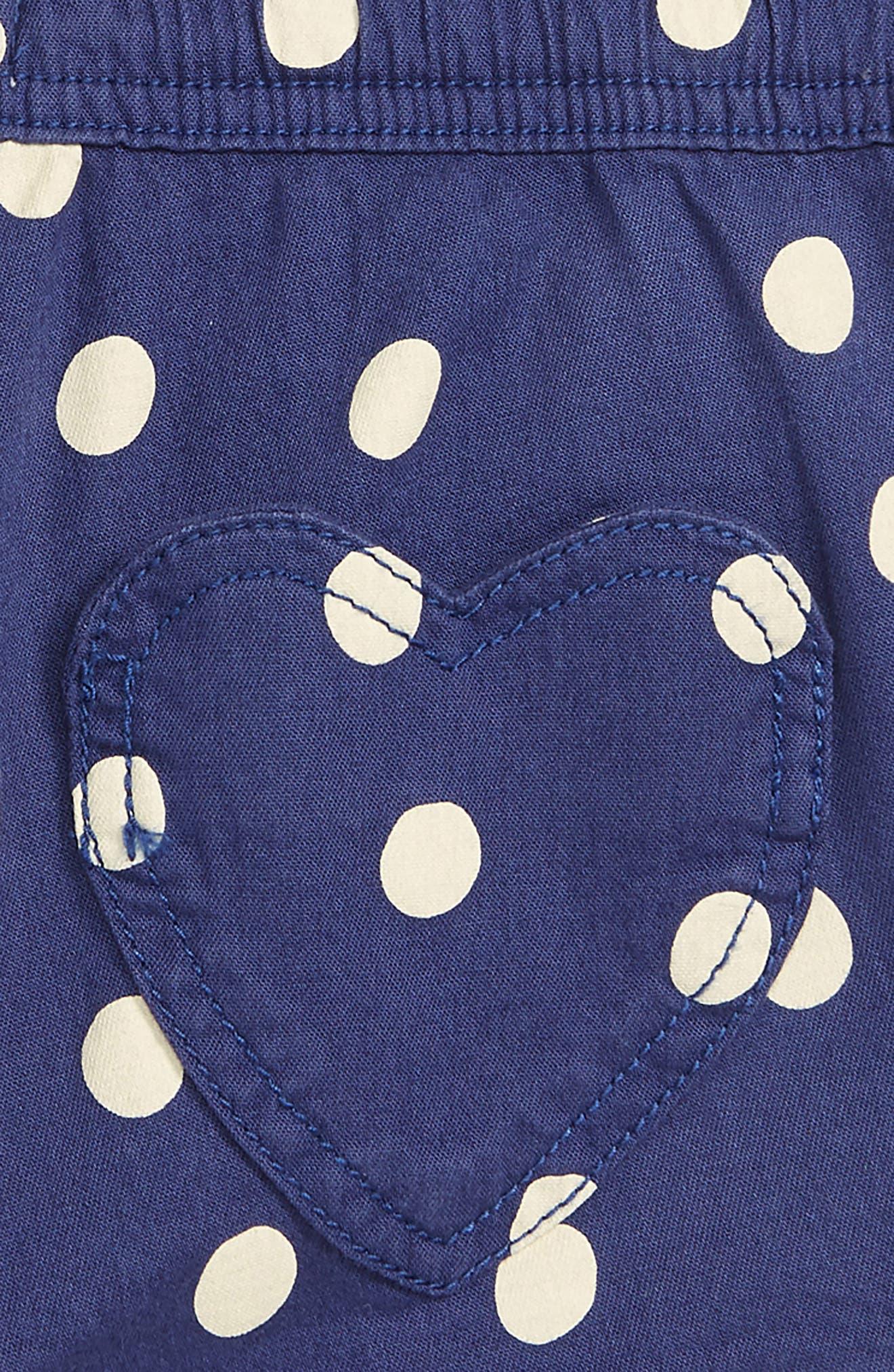 BODEN,                             Heart Pocket Shorts,                             Alternate thumbnail 3, color,                             BLU STARBOARD BLUE/ ECRU SPOT