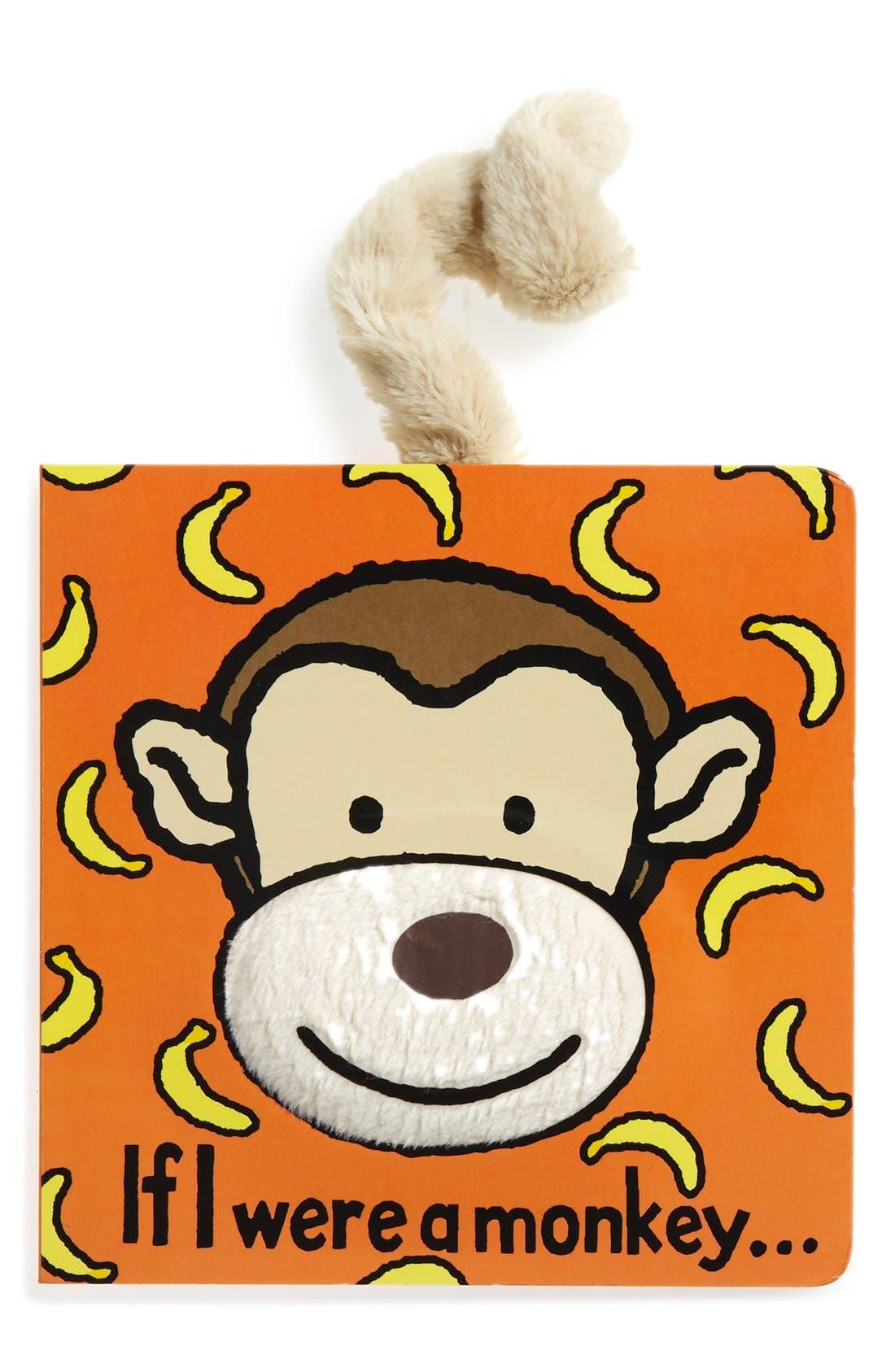 'If I Were a Monkey' Board Book,                             Main thumbnail 1, color,                             210