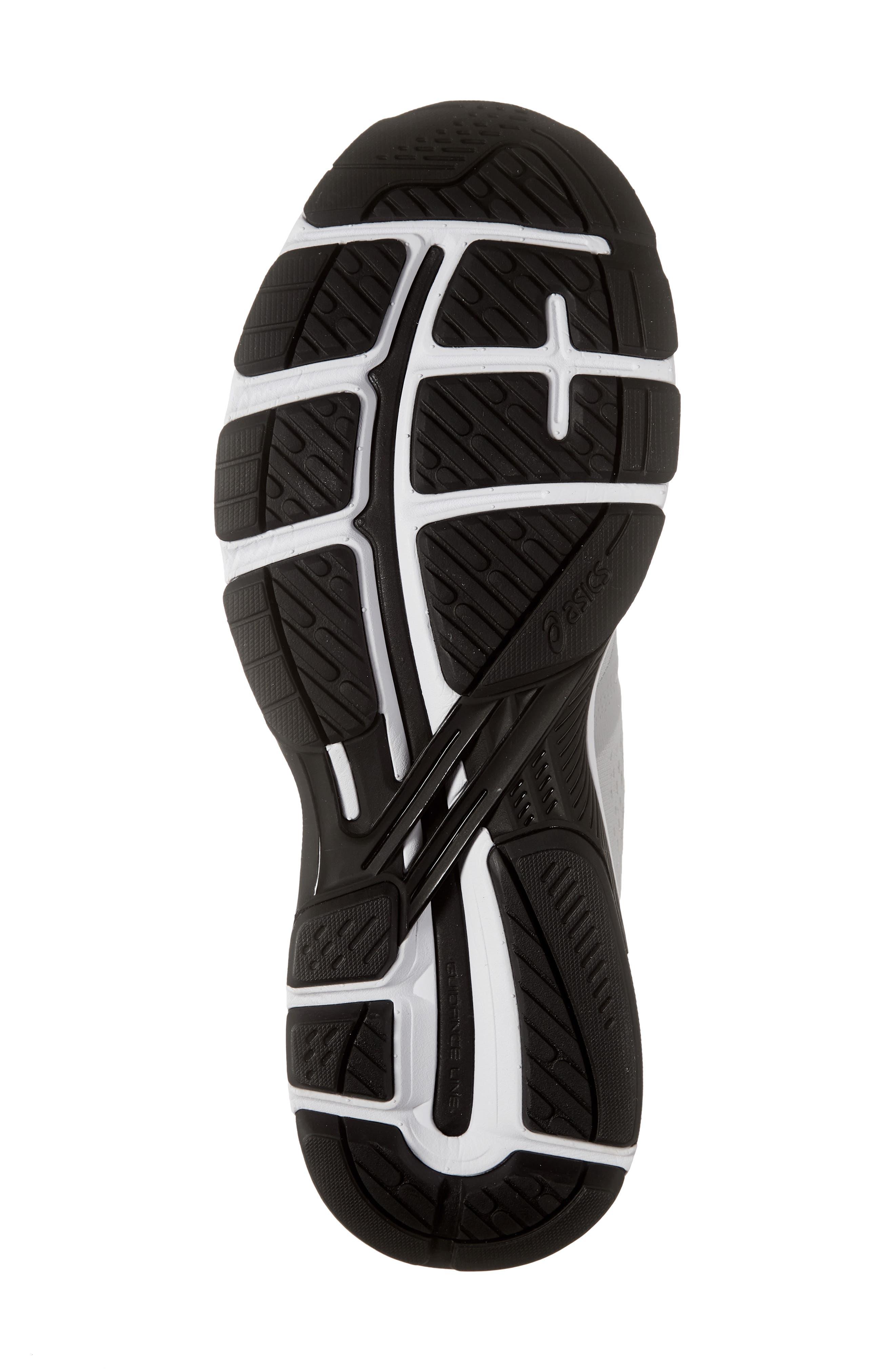 GT-2000 7 Running Shoe,                             Alternate thumbnail 6, color,                             MID GREY/ BLACK