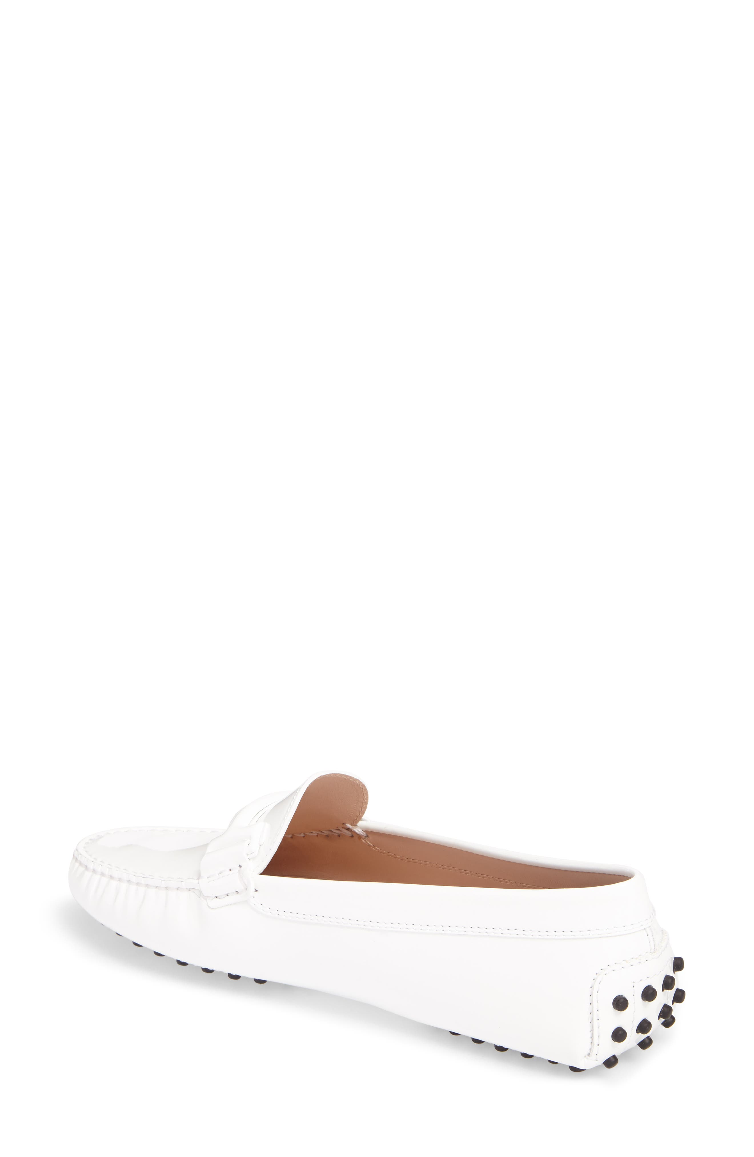 Gommini Covered Double T Loafer,                             Alternate thumbnail 4, color,