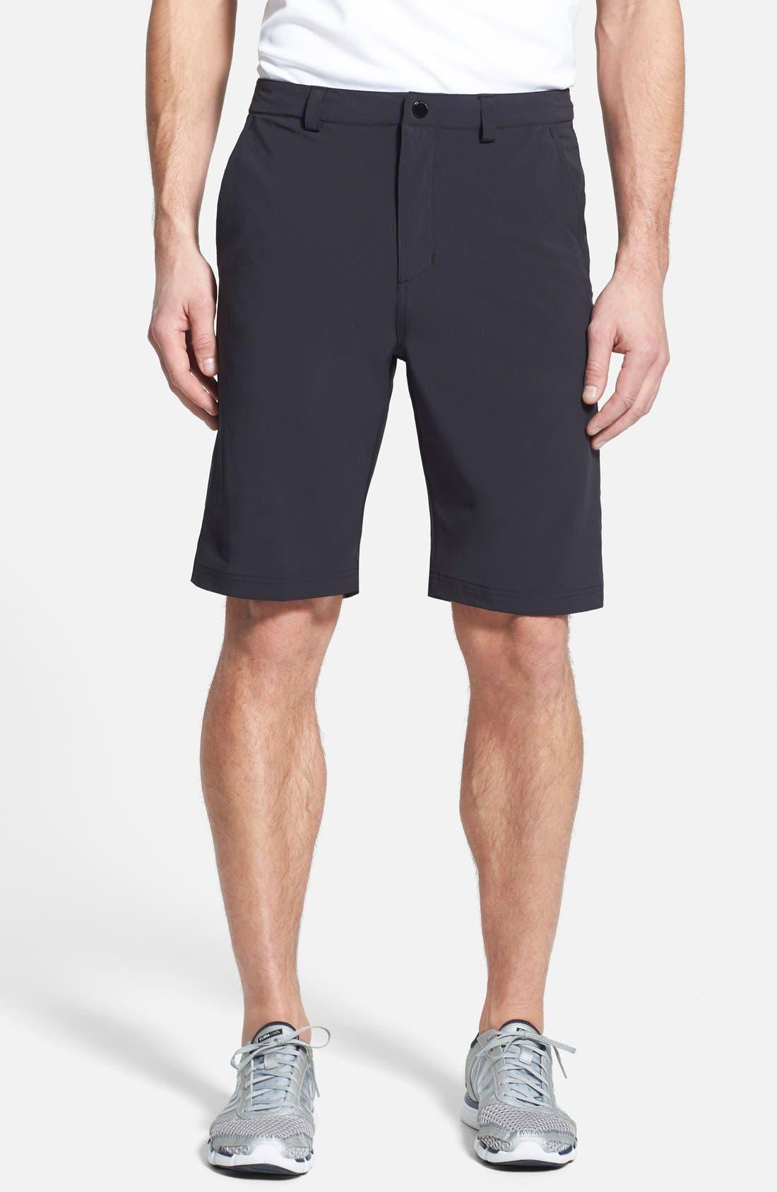 'HP QD Classic' Quick Dry Shorts,                             Main thumbnail 1, color,                             001