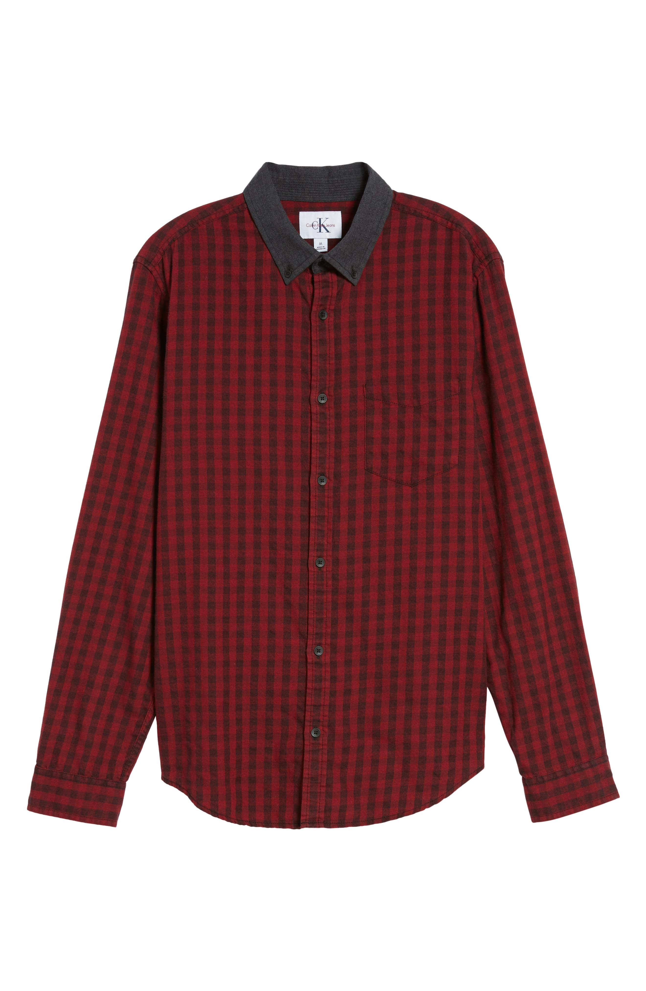 Barn Flannel Shirt,                             Alternate thumbnail 6, color,                             621