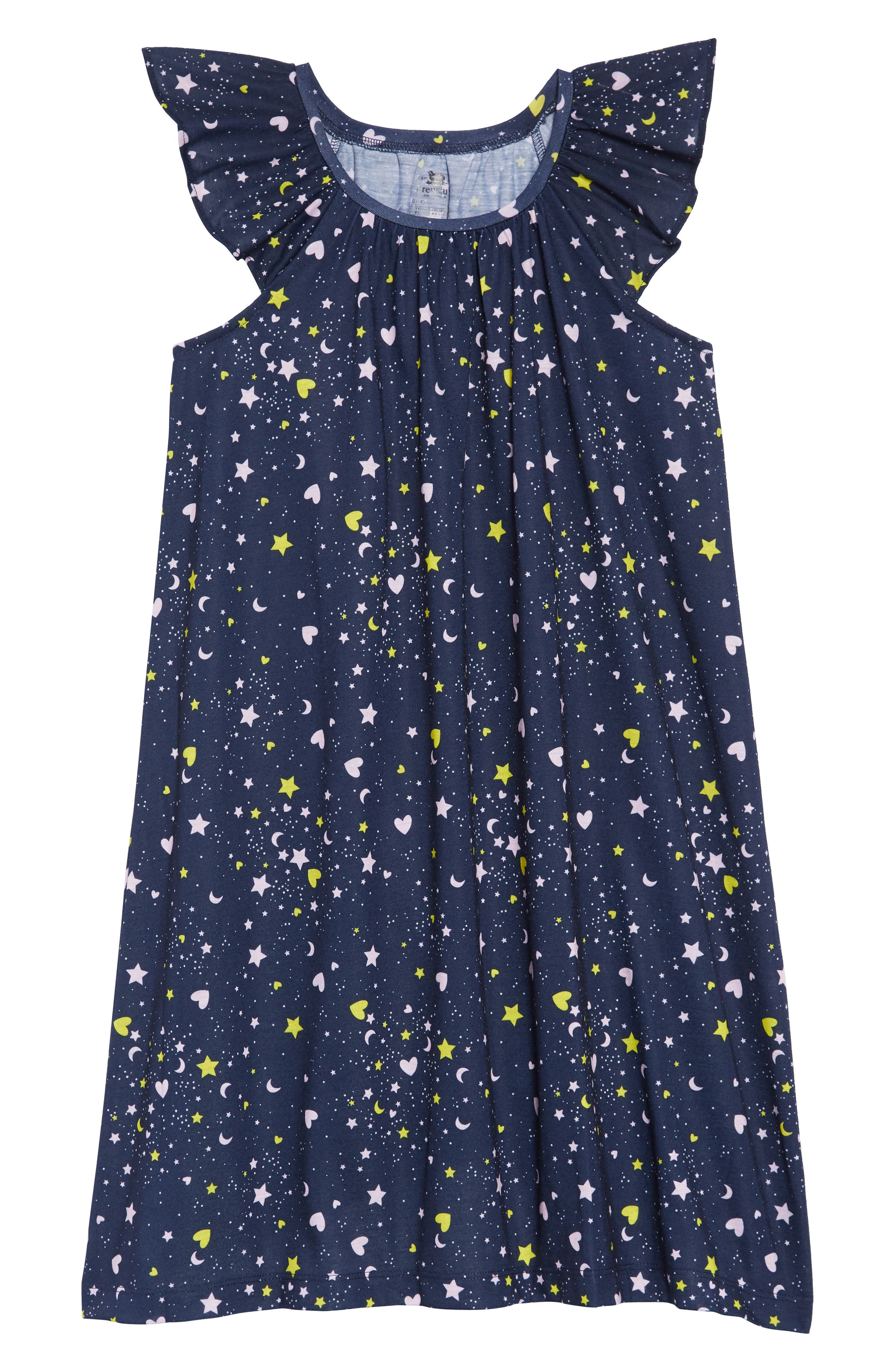 Toddler Girls Crewcuts By Jcrew Flutter Sleeve Nightgown Size 3T  Blue