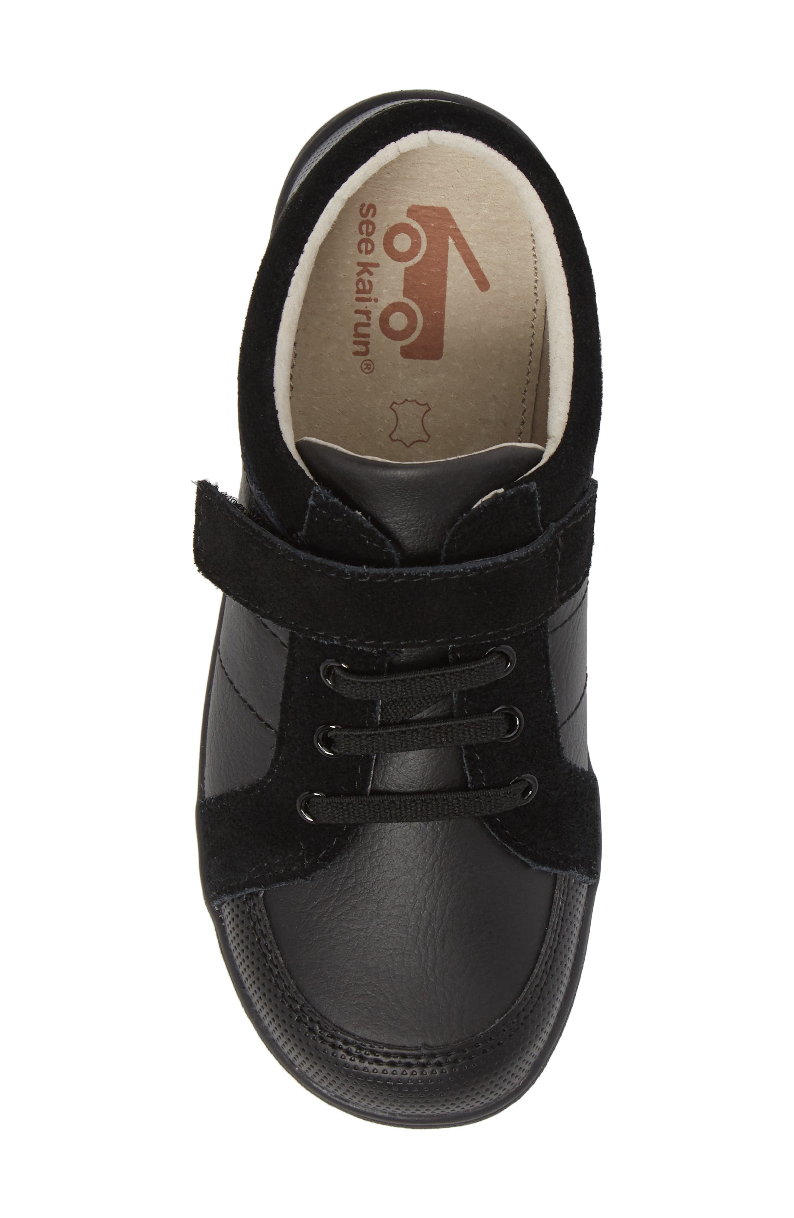 Randal III Sneaker,                             Alternate thumbnail 5, color,                             BLACK