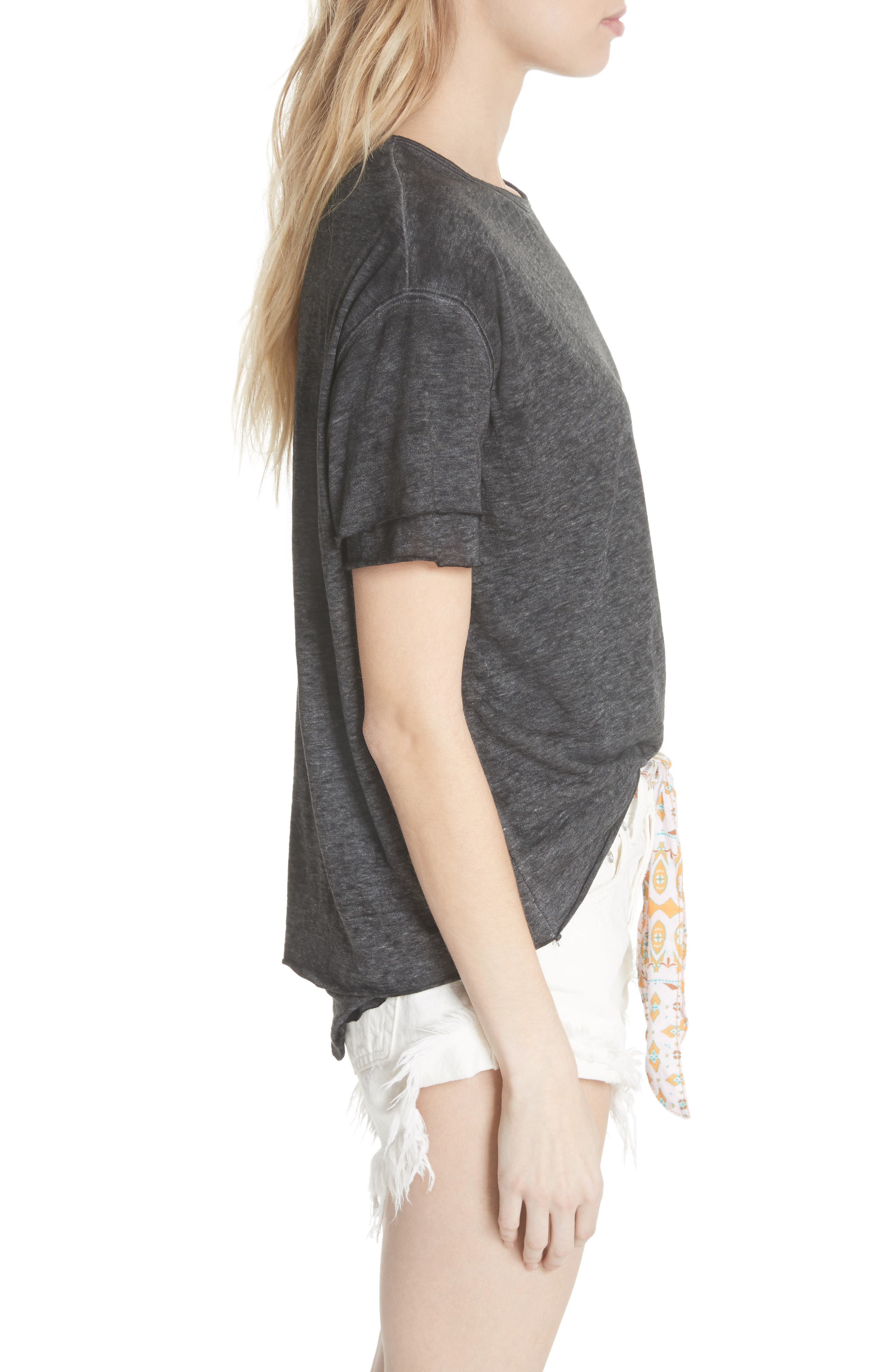 We the Free by Free People Cloud Nine Tee,                             Alternate thumbnail 3, color,                             089