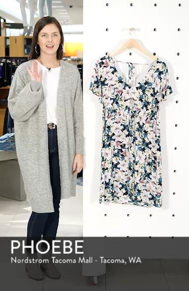 Miran Floral Print Woven Dress, sales video thumbnail