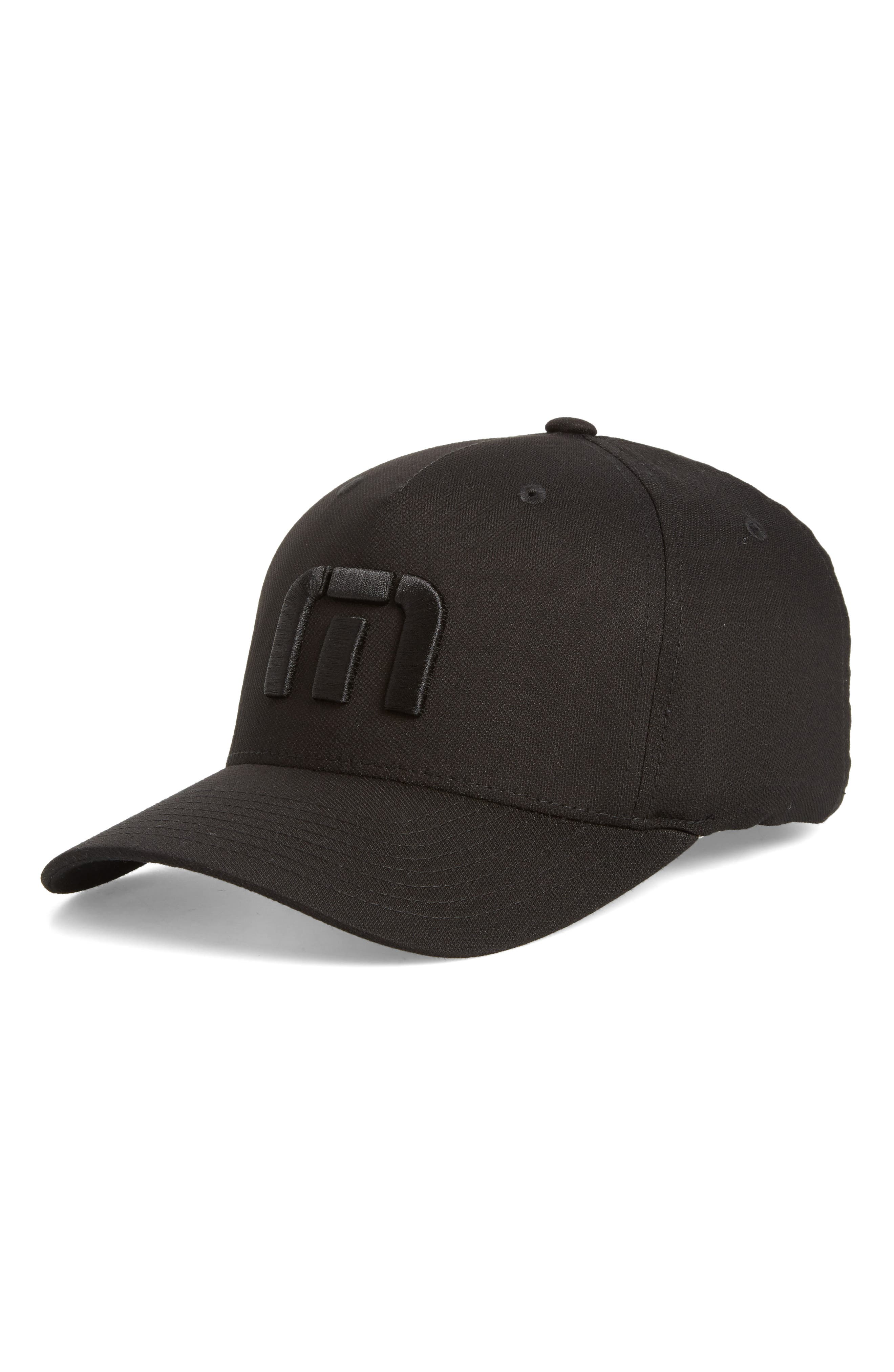 Van Dyke Flex Fit Baseball Cap,                         Main,                         color, 001