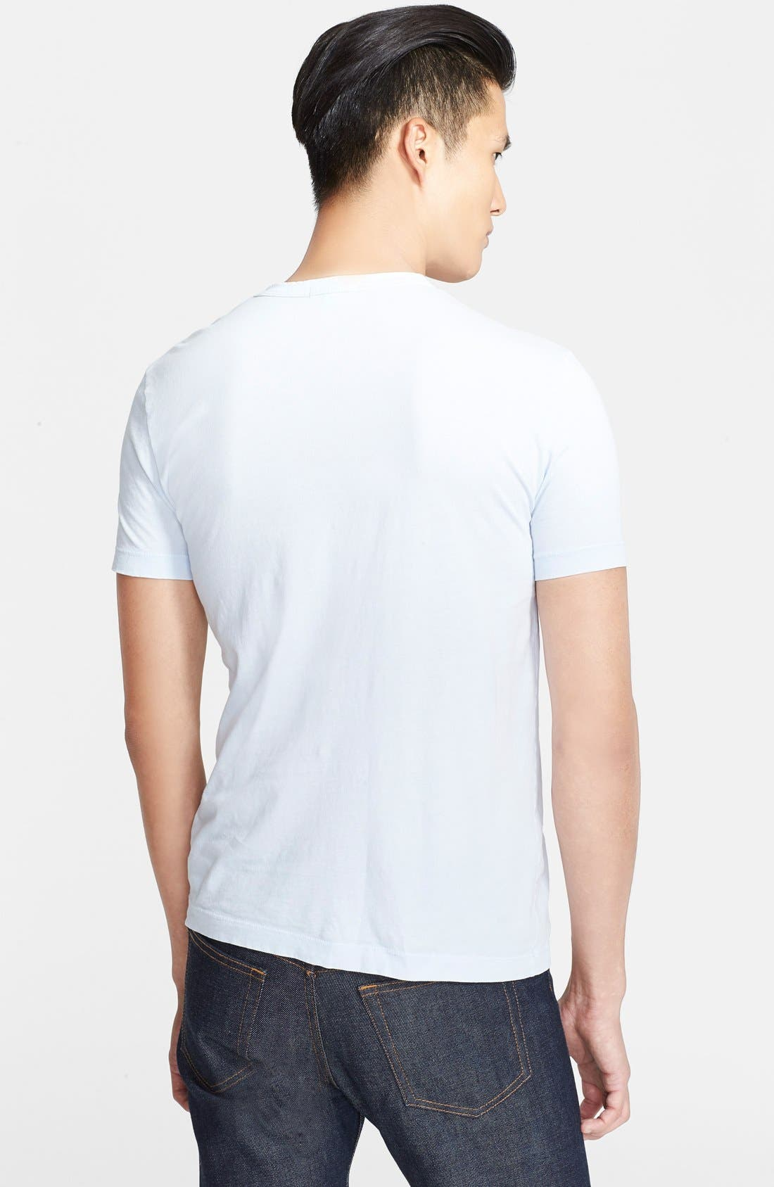 Crewneck Jersey T-Shirt,                             Alternate thumbnail 289, color,