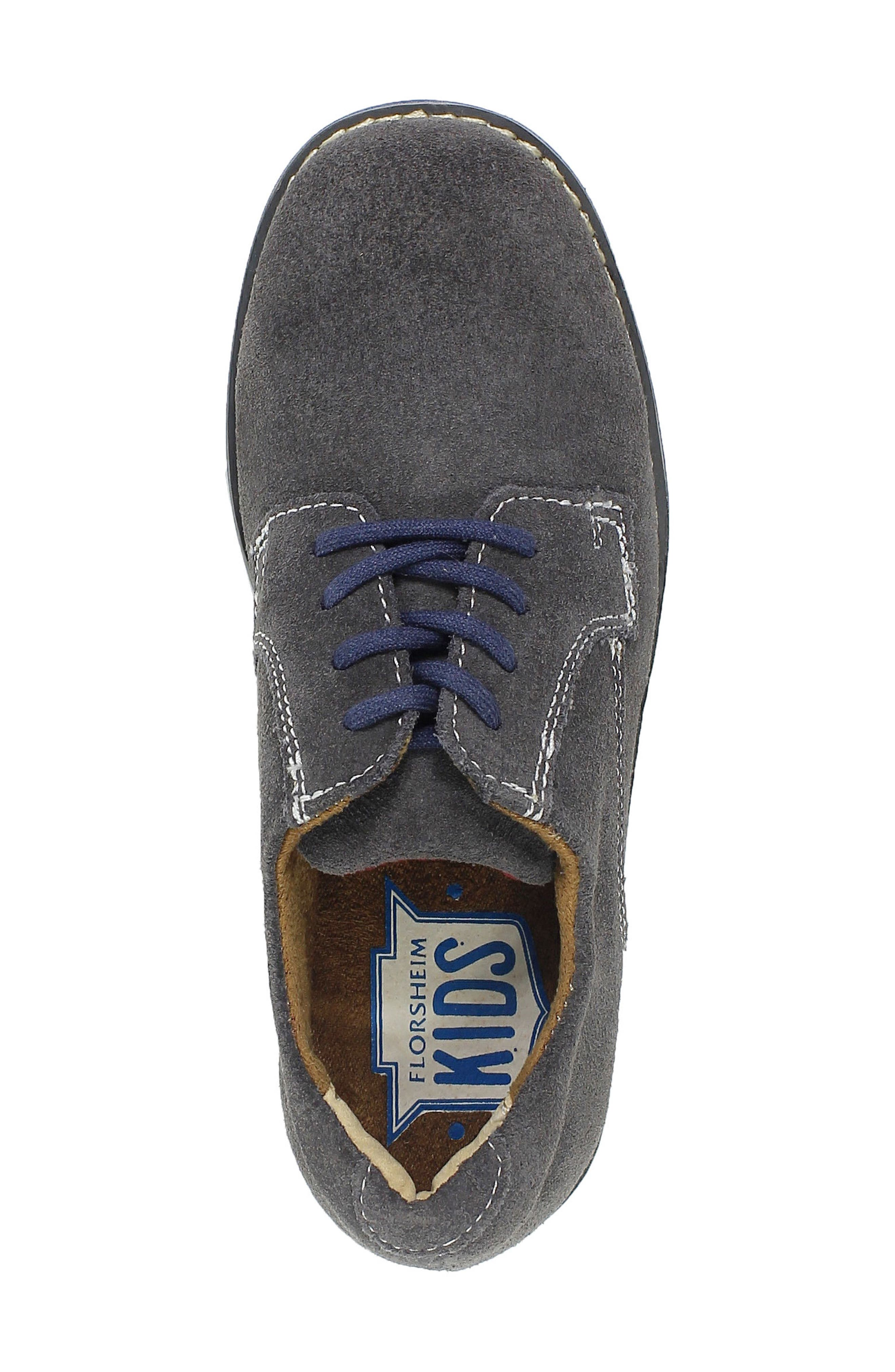 Kearny Two Tone Oxford,                             Alternate thumbnail 5, color,                             GREY/ NAVY SOLE