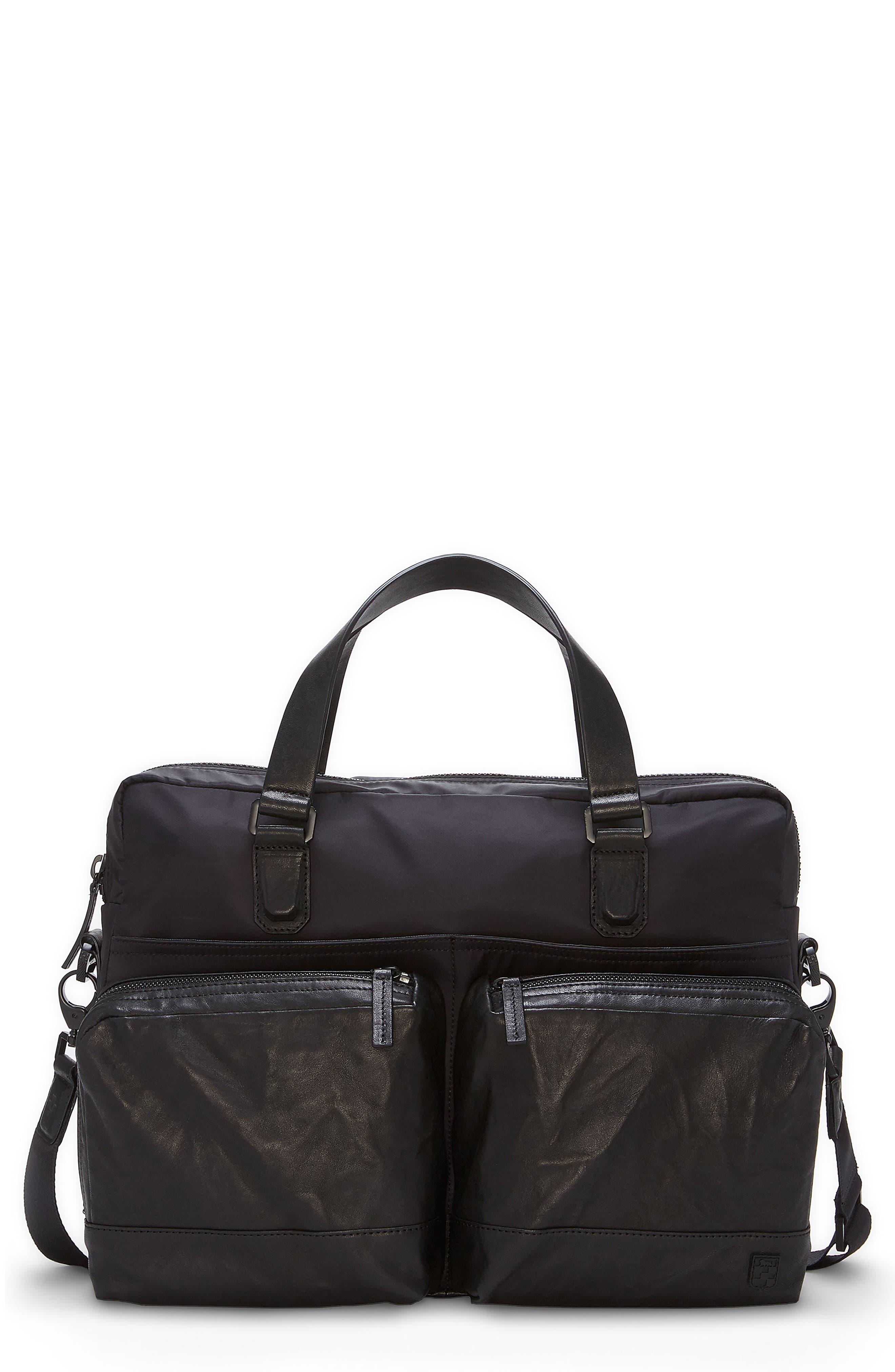 Basin Satchel Briefcase,                         Main,                         color, 001