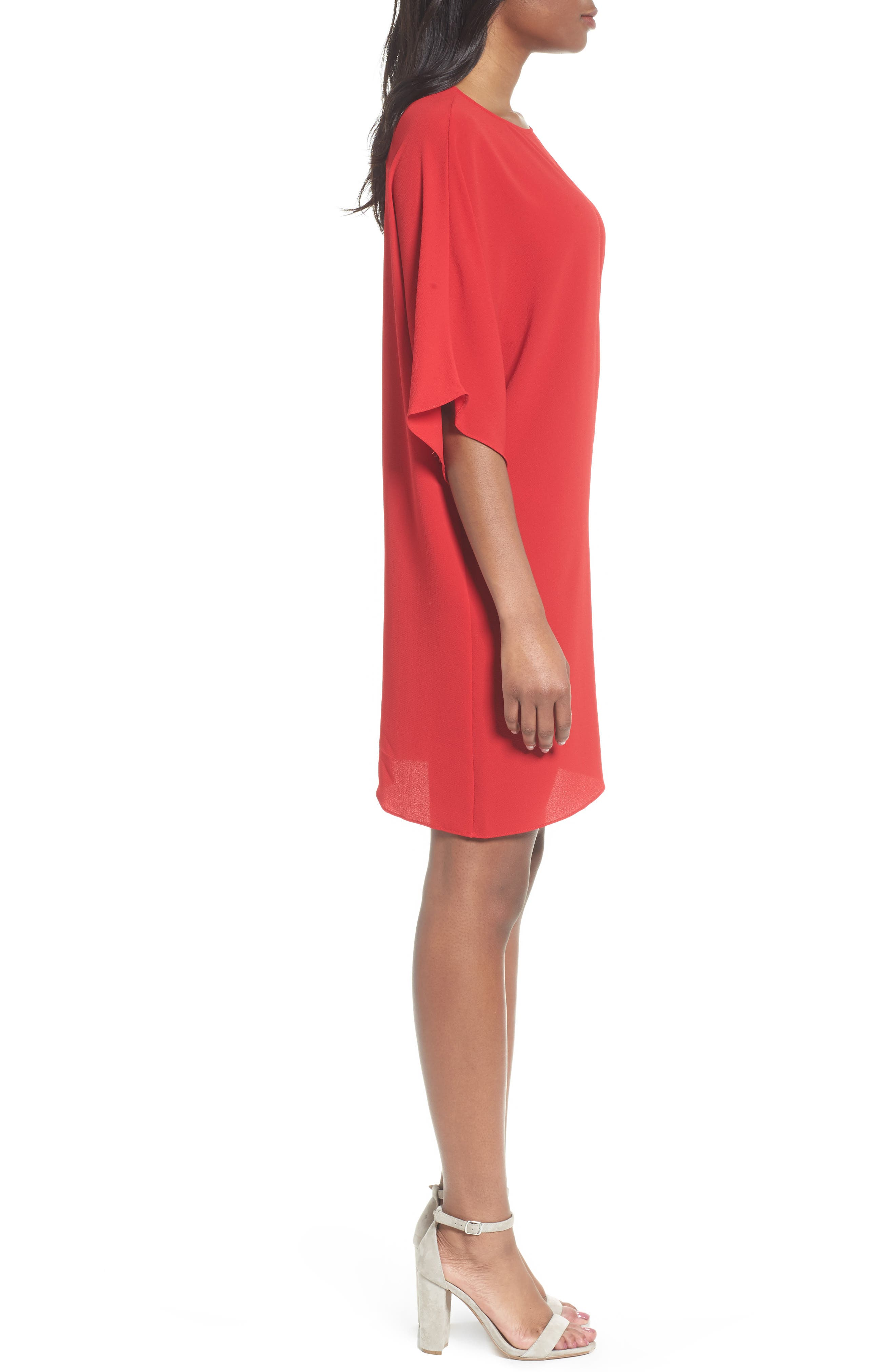 Dolman Sleeve Dress,                             Alternate thumbnail 3, color,                             614