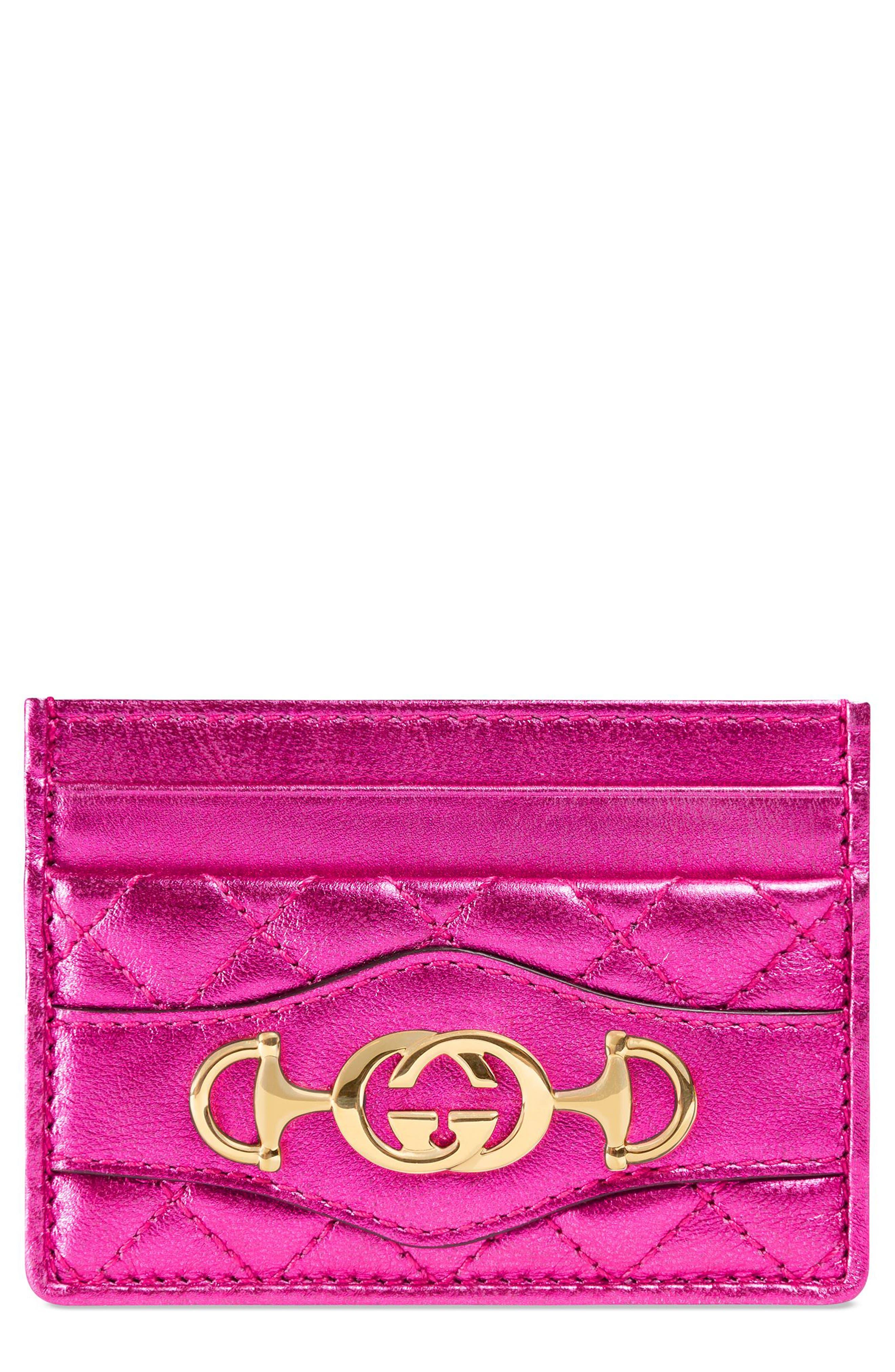 Laminated Leather Card Case,                             Main thumbnail 1, color,                             650