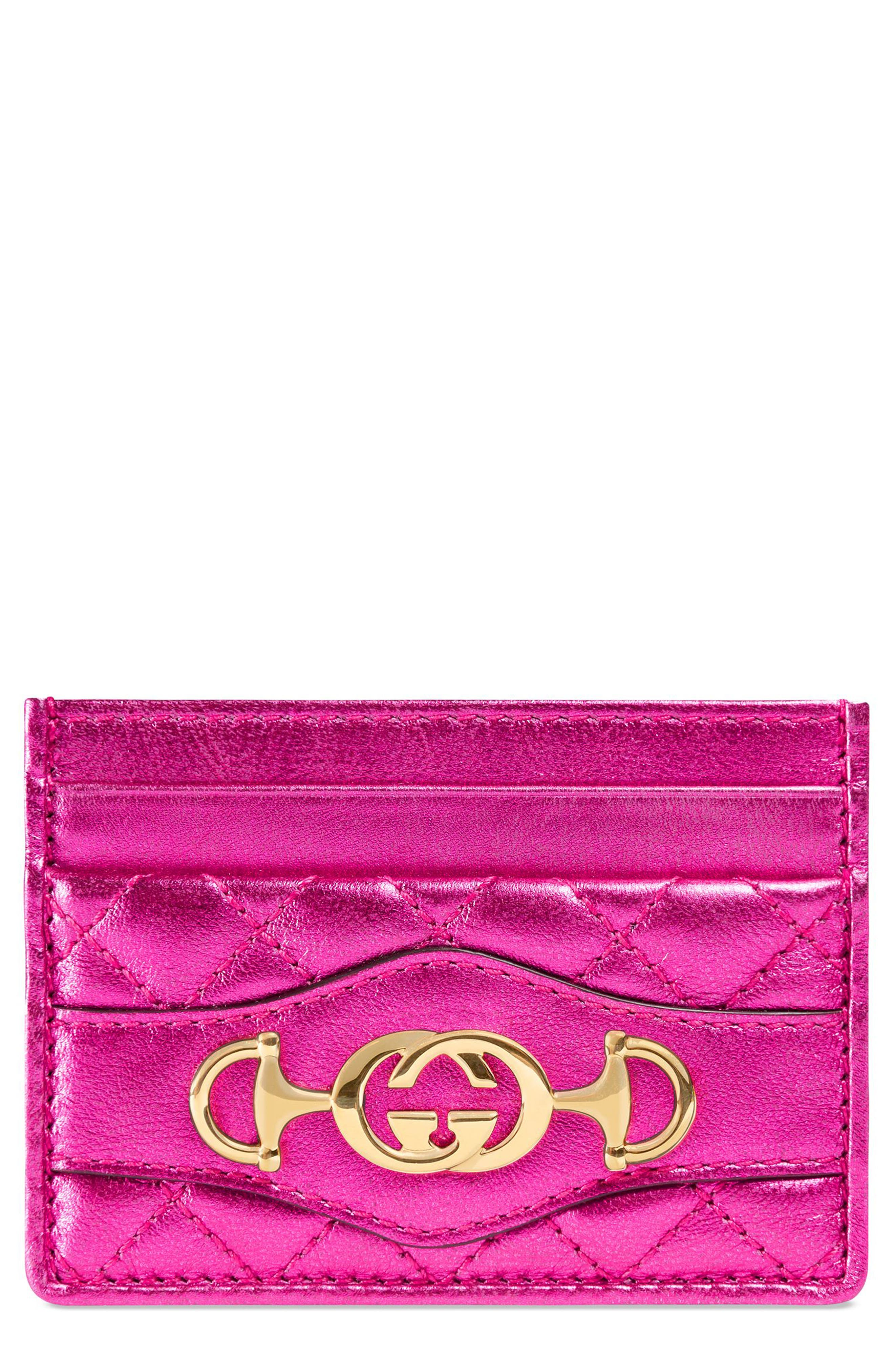 Laminated Leather Card Case,                         Main,                         color, 650