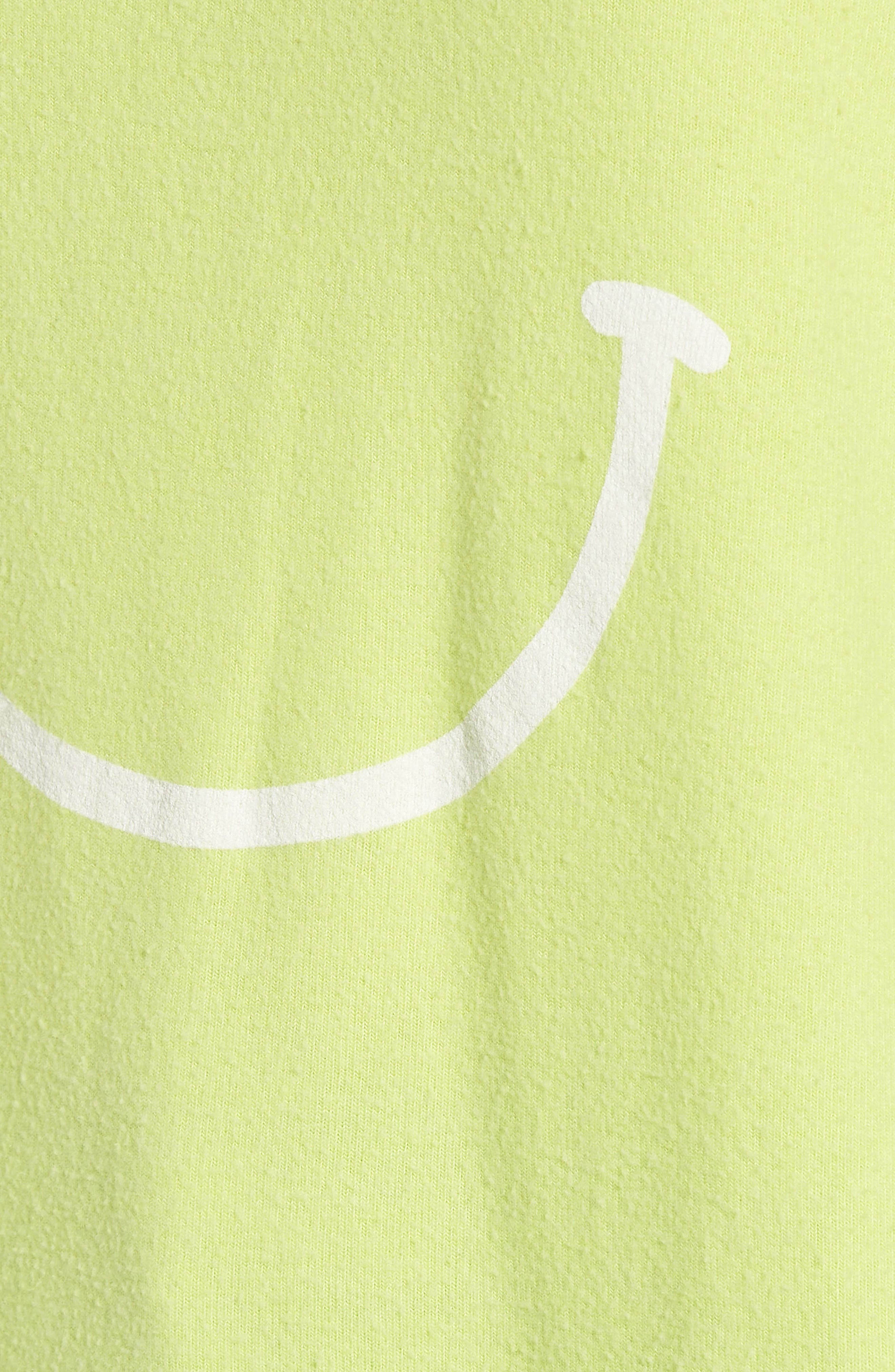 Sleepy Smiley Sommers Sweatshirt,                             Alternate thumbnail 6, color,