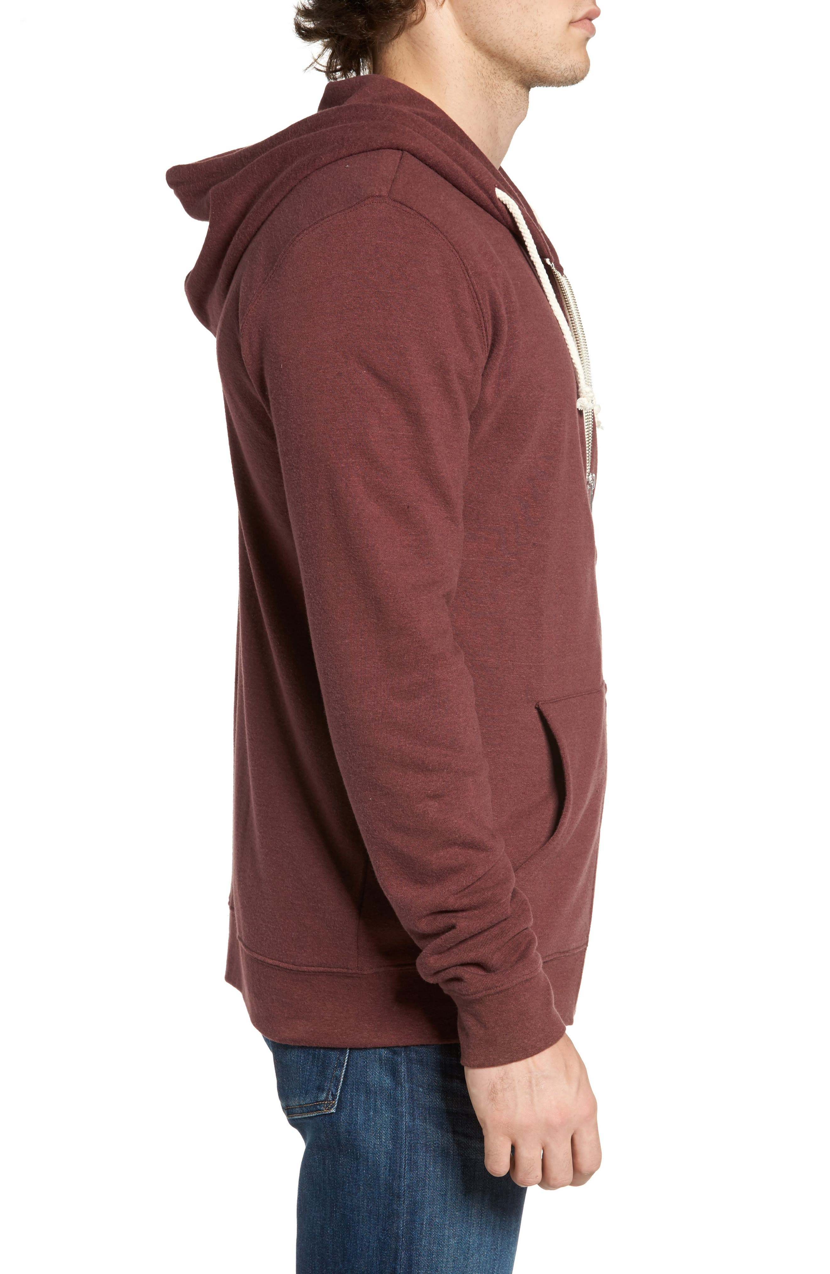 Threads for Thought Trim Fit Heathered Hoodie,                             Alternate thumbnail 48, color,