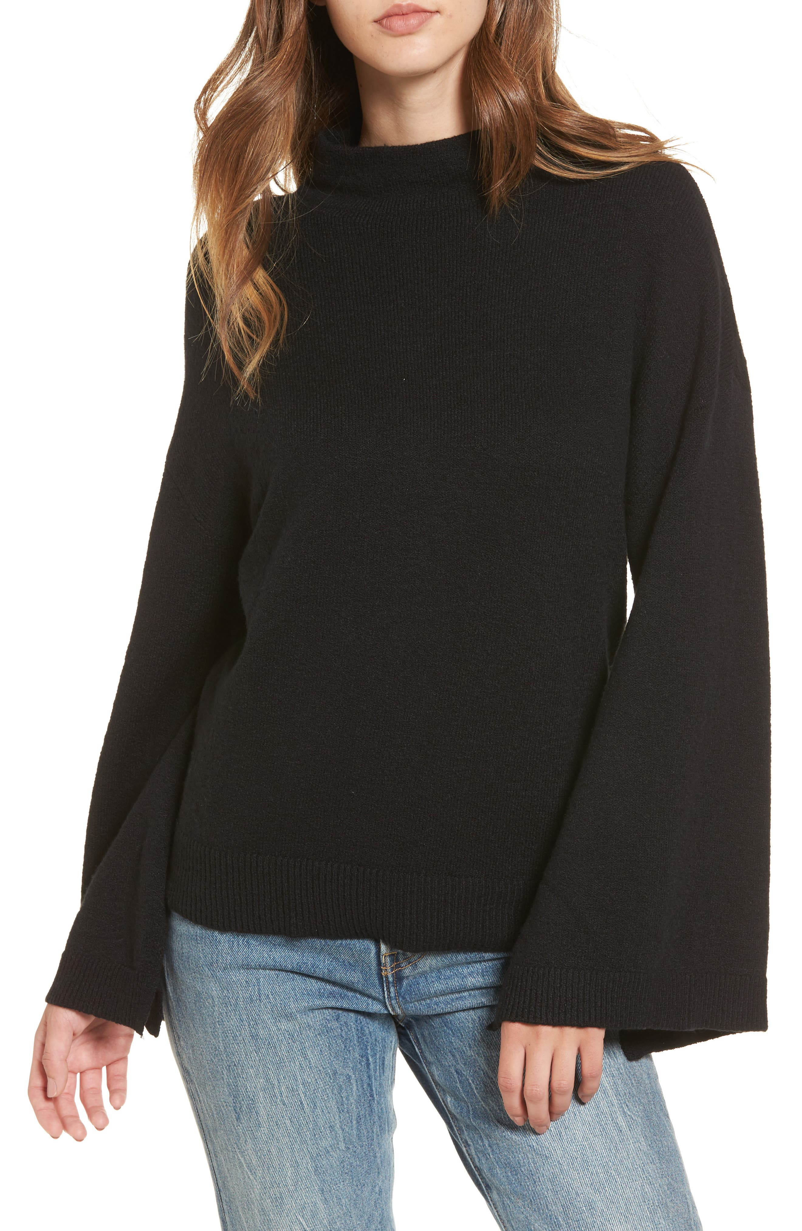 Dolman Sleeve Sweater,                         Main,                         color, 001