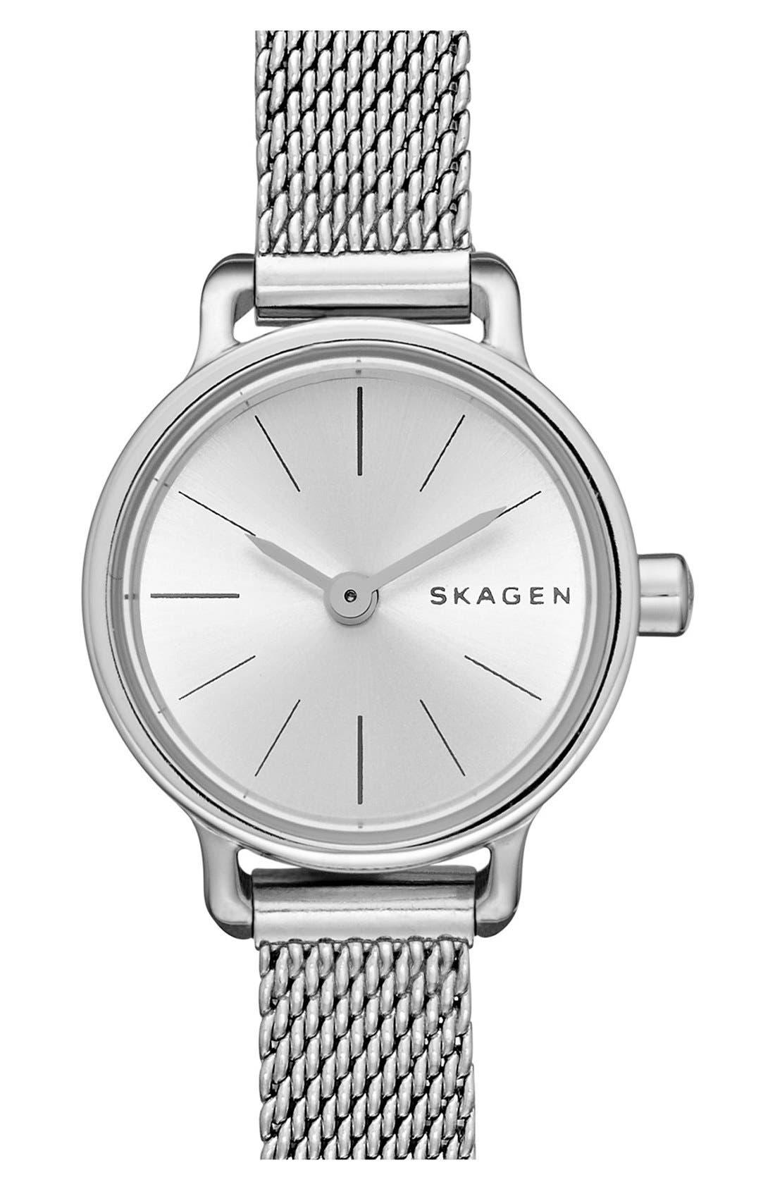 'Hagen' Mesh Strap Watch, 20mm, Main, color, 040