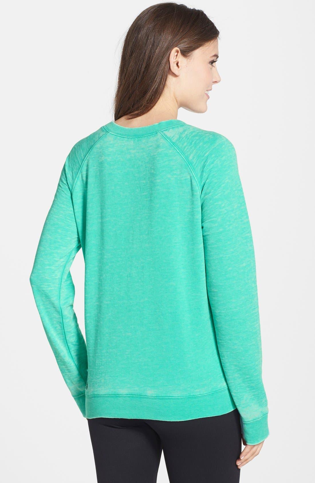 Burnout Lounge Sweatshirt,                             Alternate thumbnail 89, color,