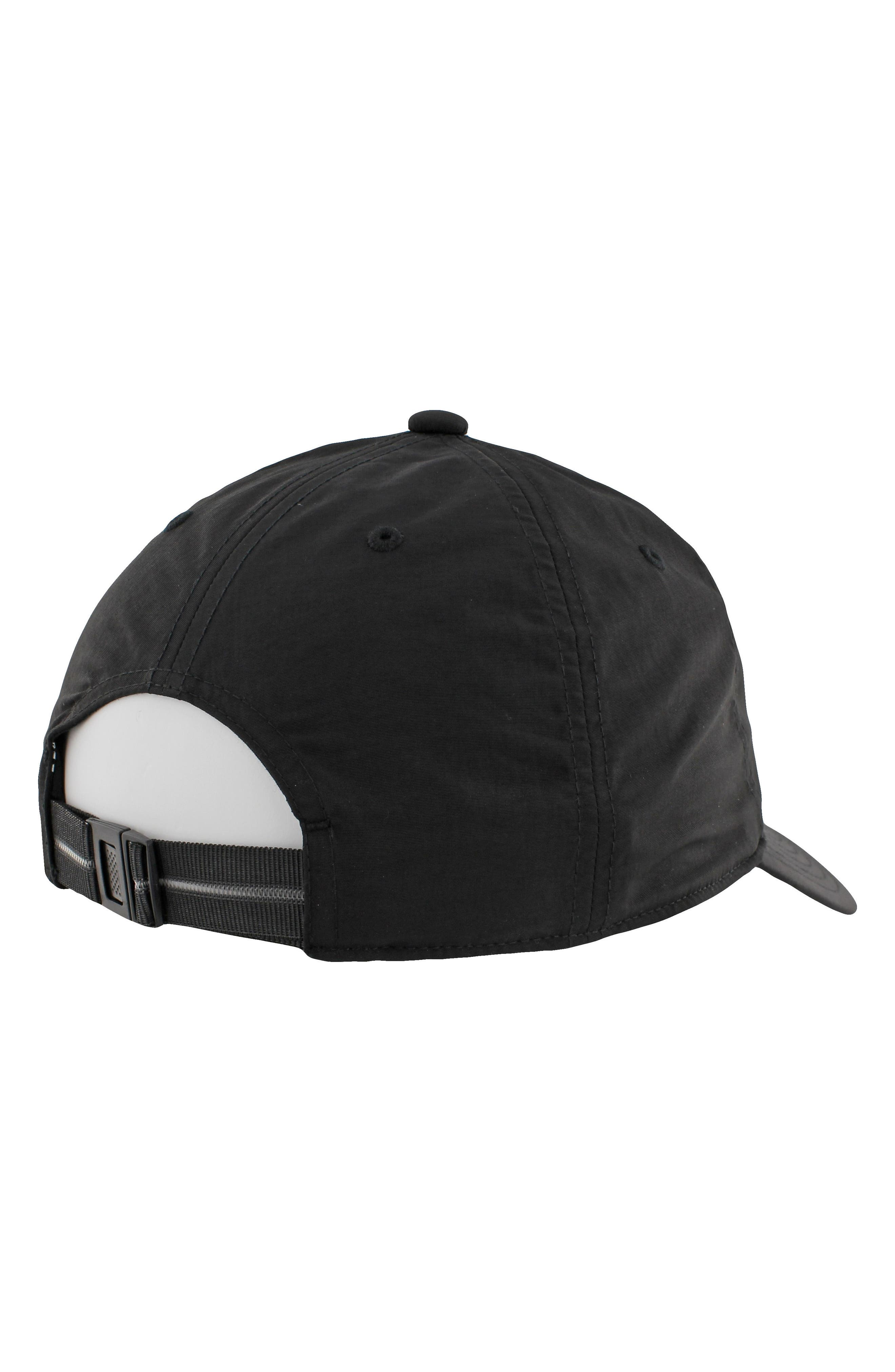 Relaxed Logo Baseball Cap,                             Alternate thumbnail 4, color,                             001