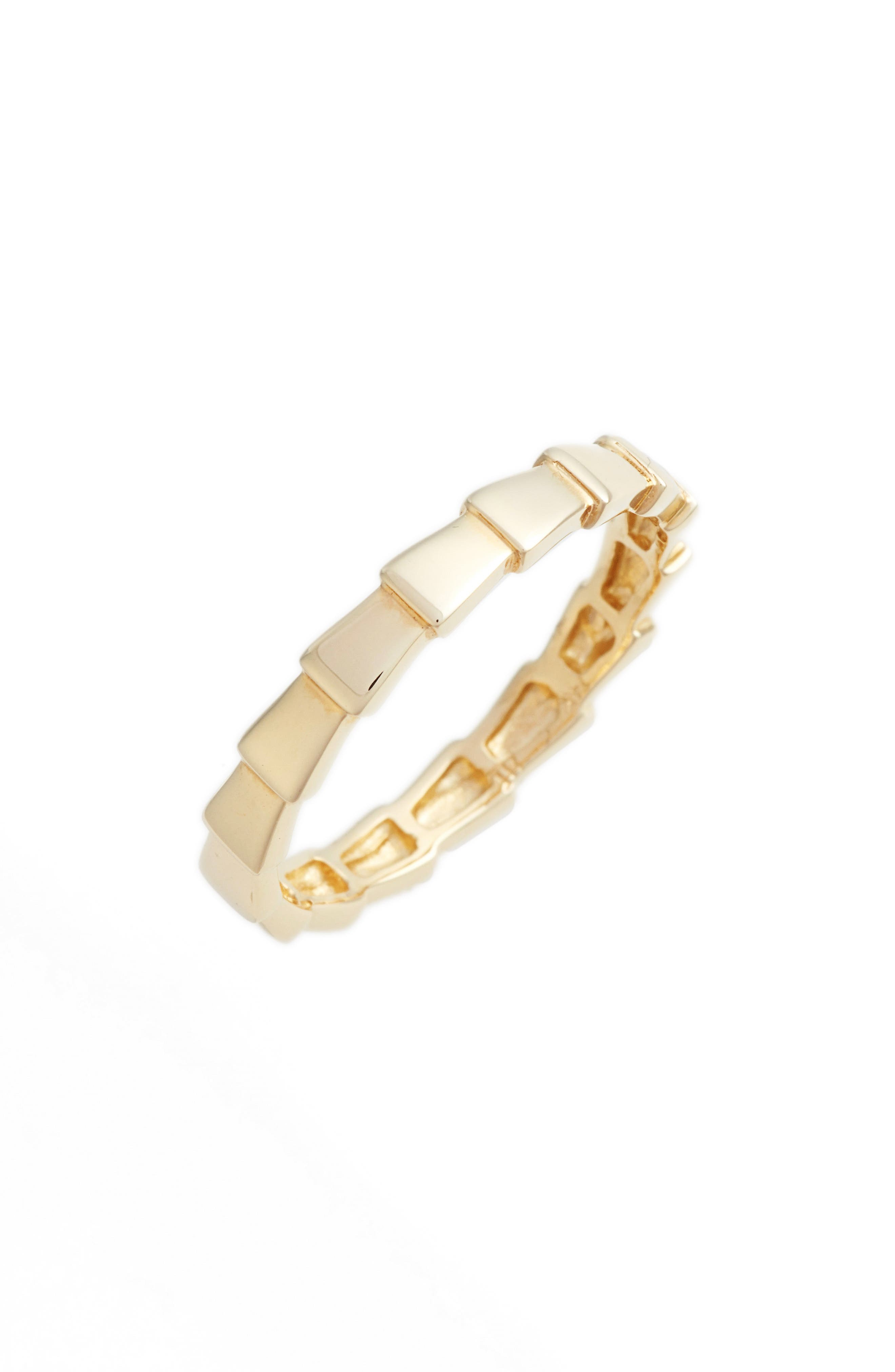 Geo Arrow Ring,                         Main,                         color, YELLOW GOLD