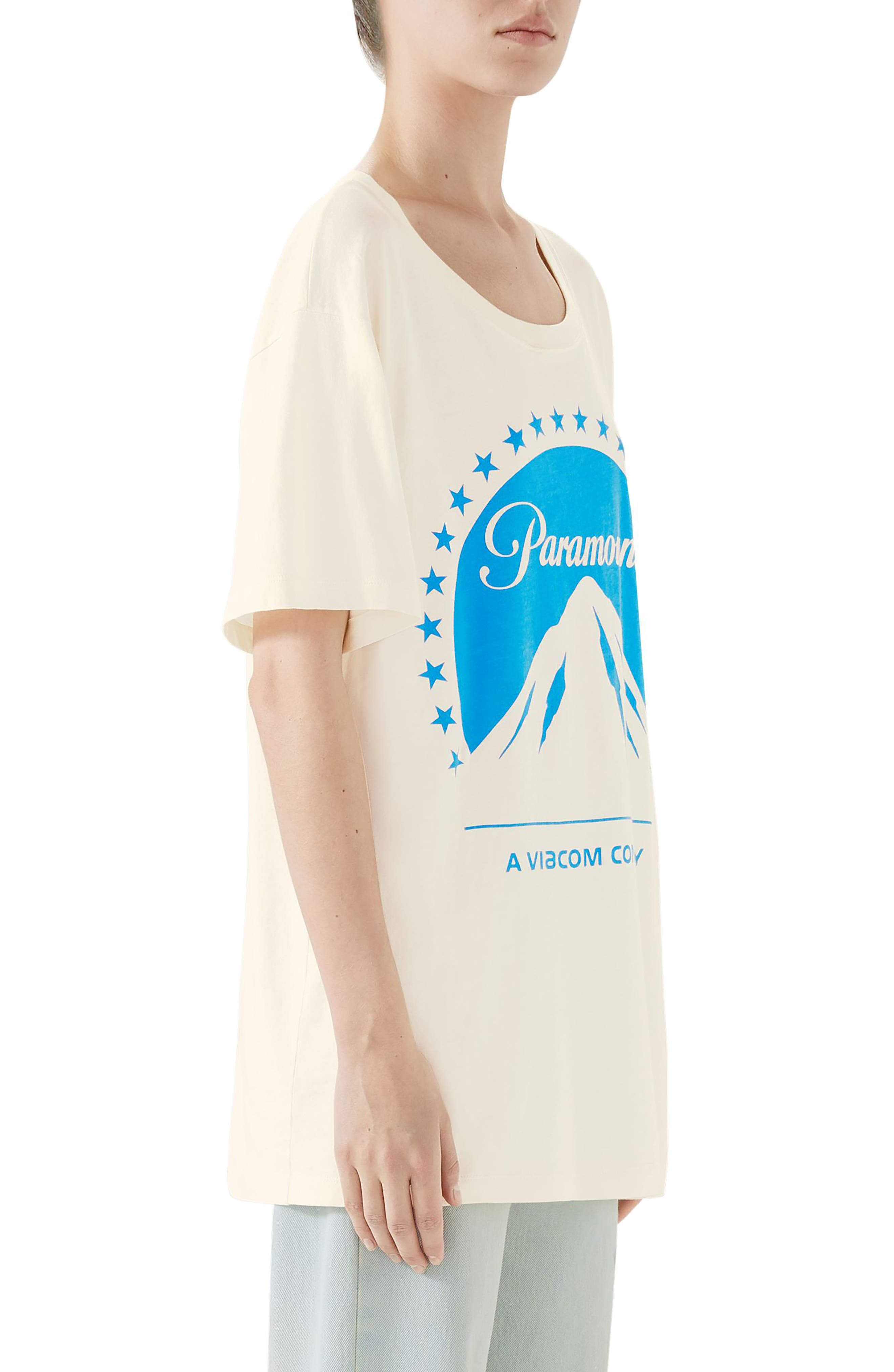 Paramount Print Tee,                             Alternate thumbnail 3, color,                             IVORY