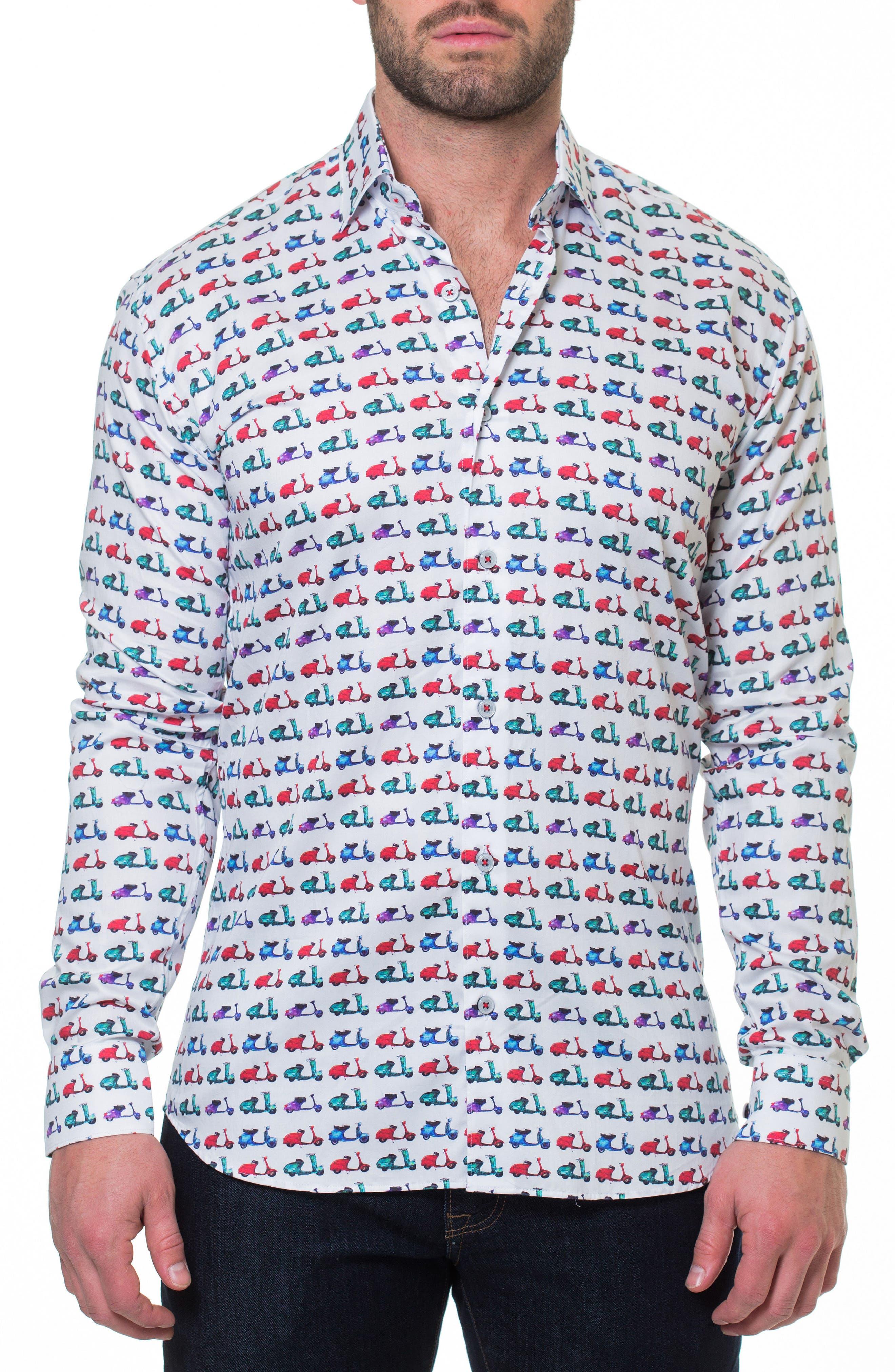 Luxor Vespa Sport Shirt,                             Main thumbnail 1, color,                             110