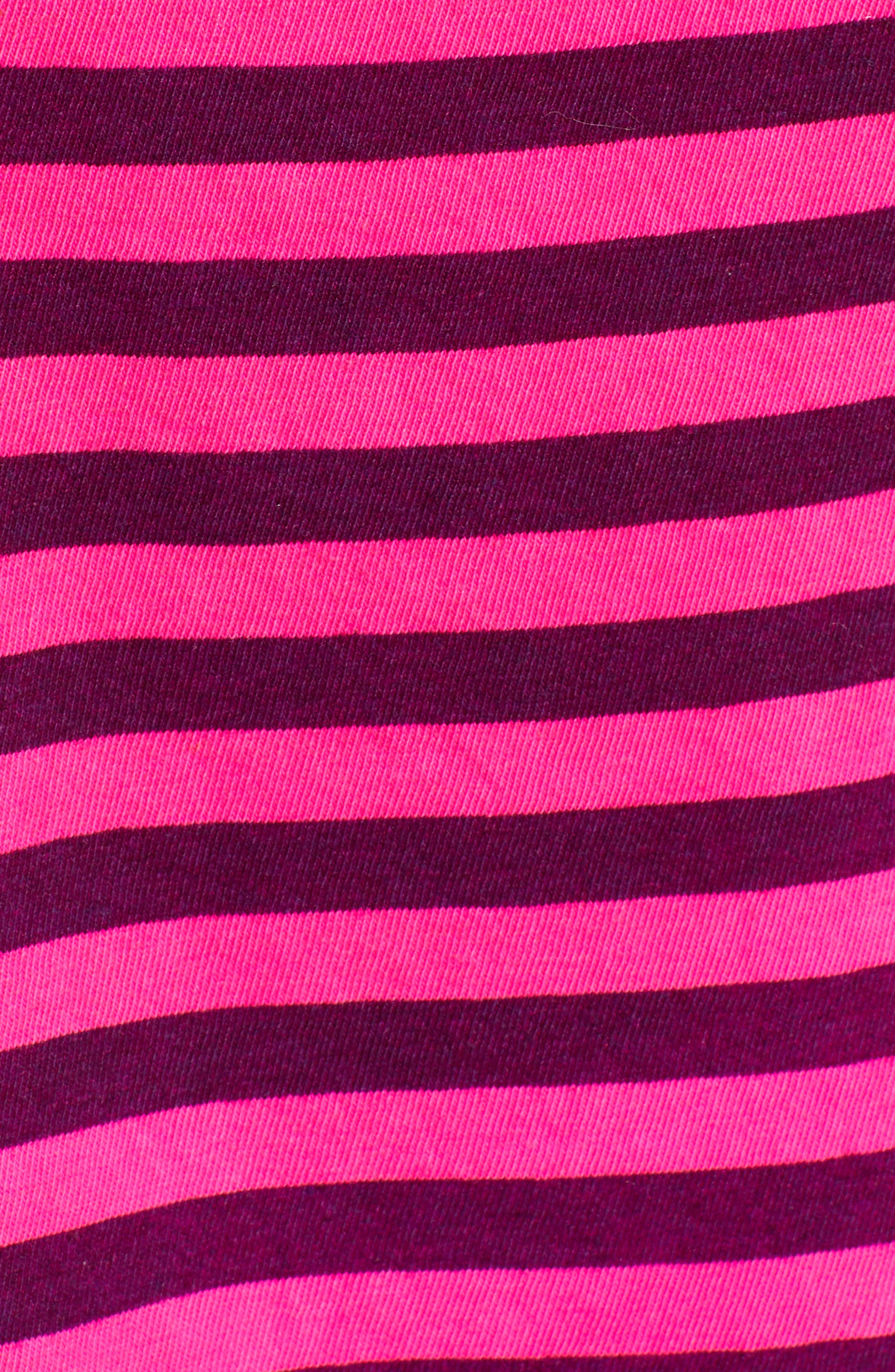 Neon Stripe Baby Tee,                             Alternate thumbnail 5, color,                             650